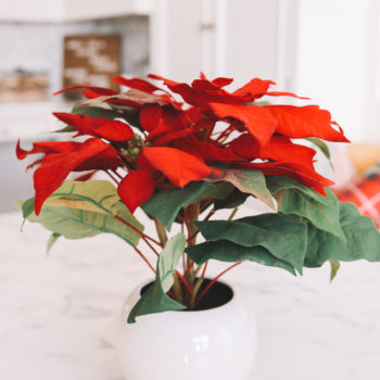 The Best Artificial Holiday Flowers + Plants of 2020