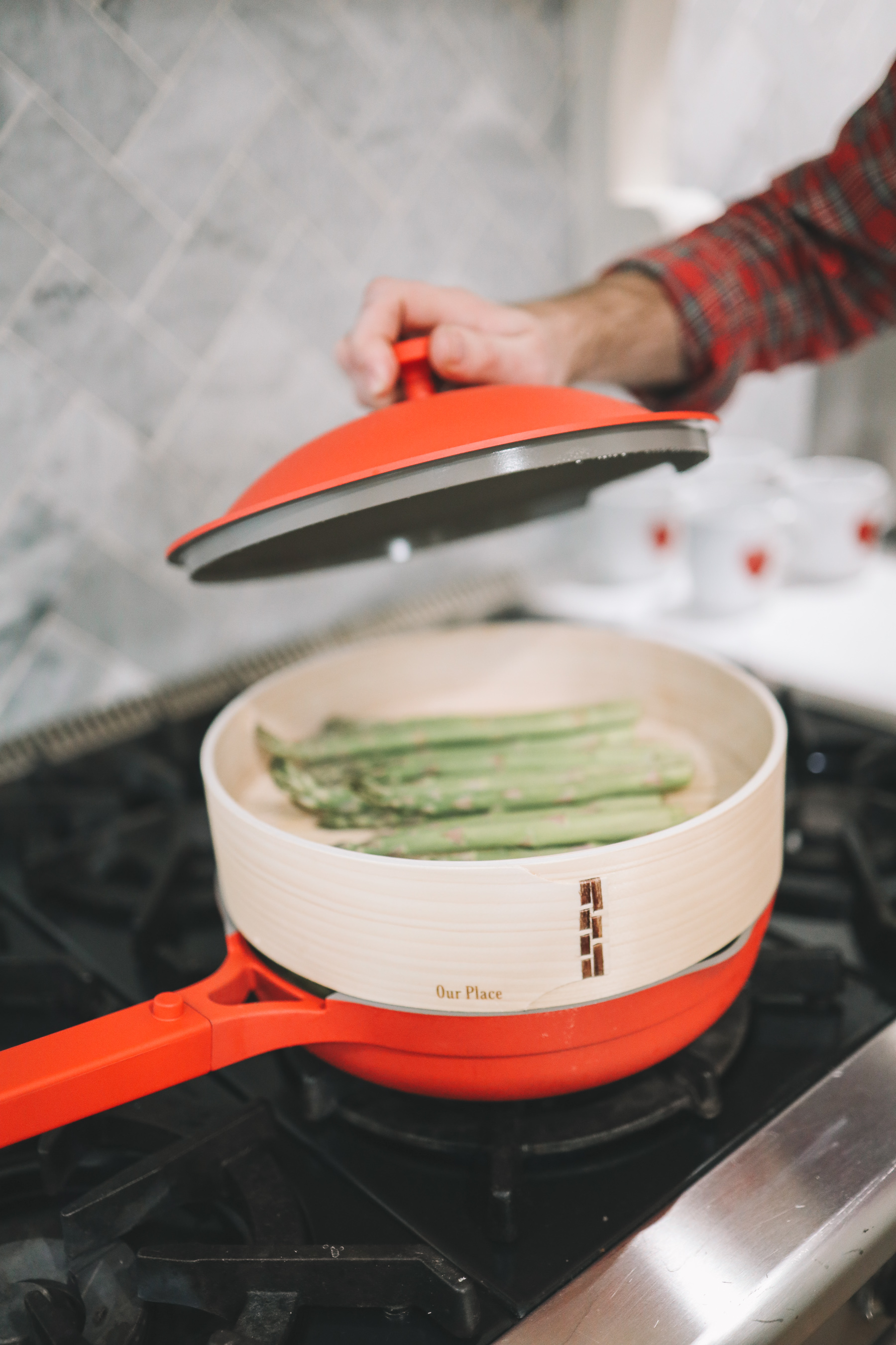 how to steam in the Always Pan