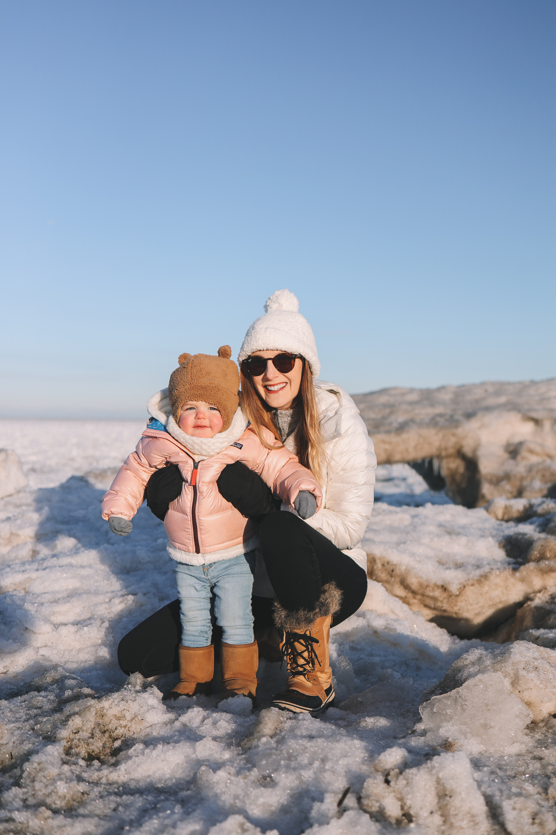 Backcountry baby winter clothes | Lighthouse Beach Evanston