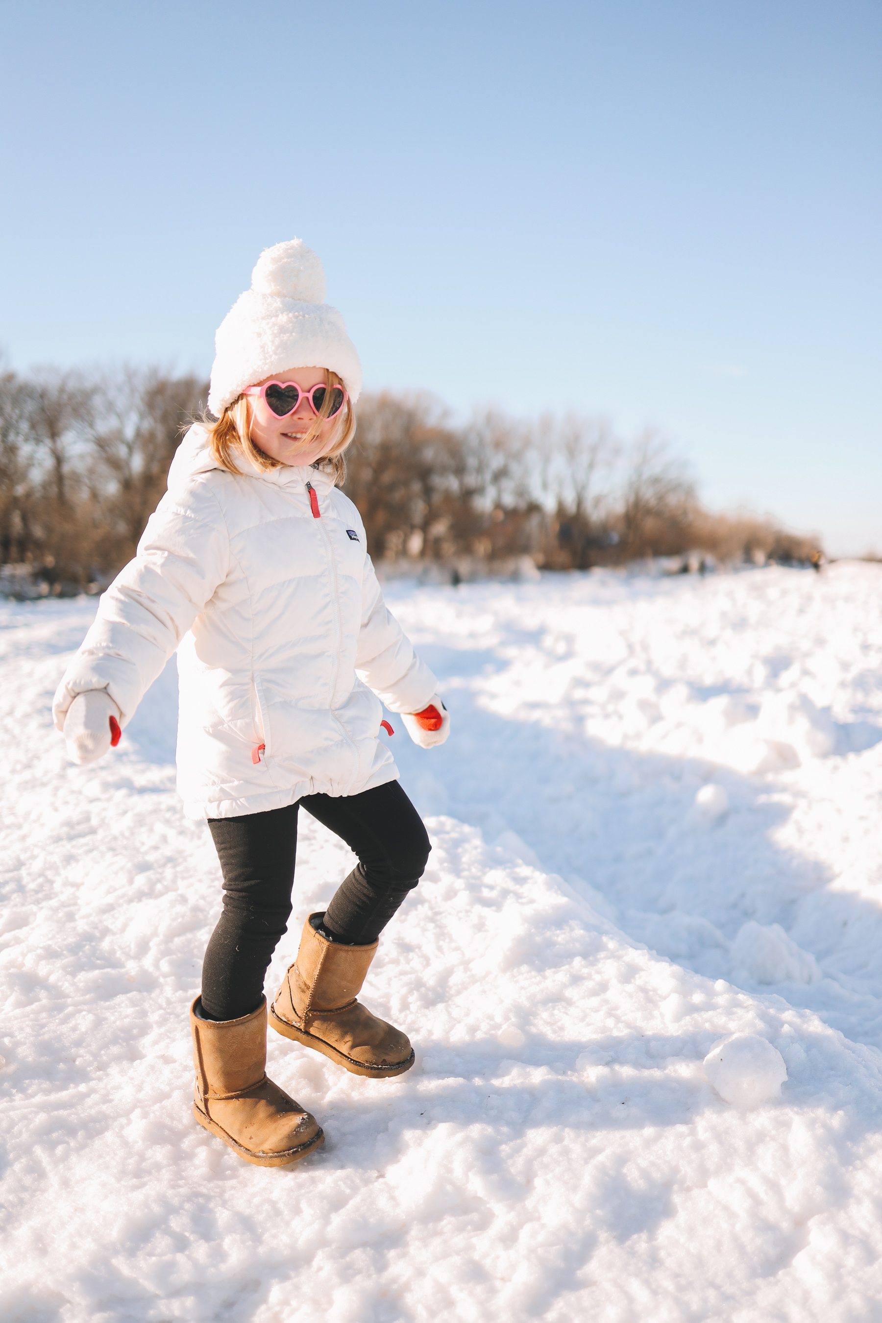 Backcountry kids winter clothes | Lighthouse Beach Evanston