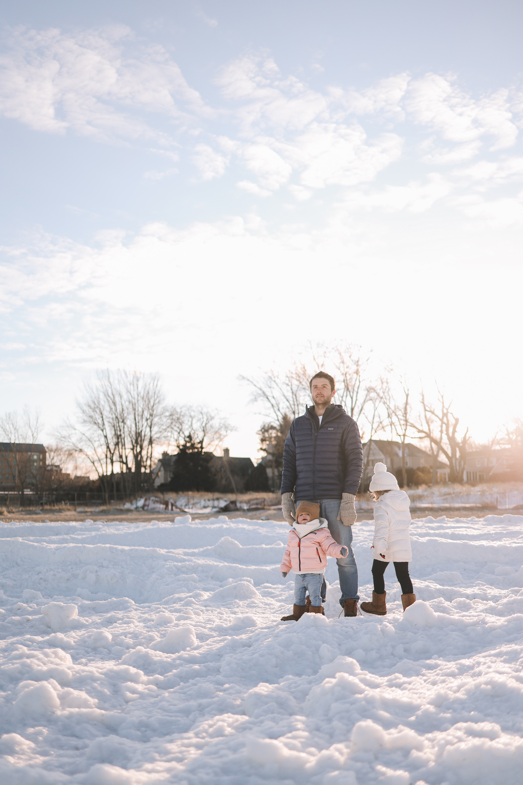 Backcountry baby winter gear | Lighthouse Beach Evanston