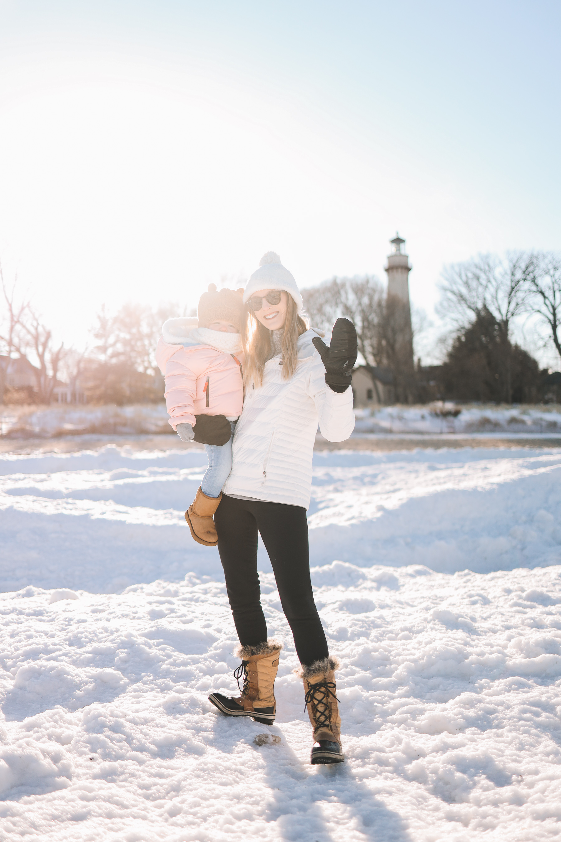 Backcountry winter gear | Lighthouse Beach Evanston