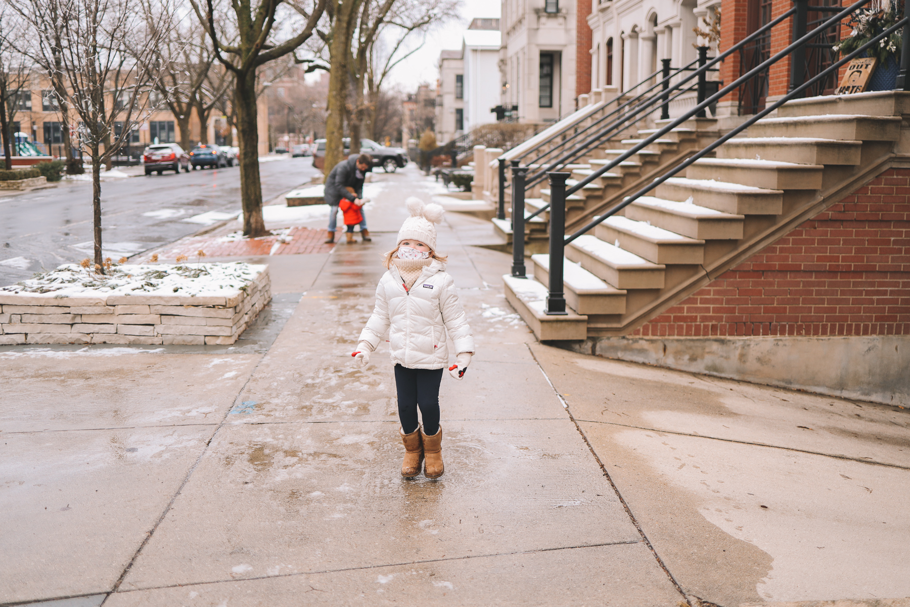 Oz Park Snow Day | kids winter wear