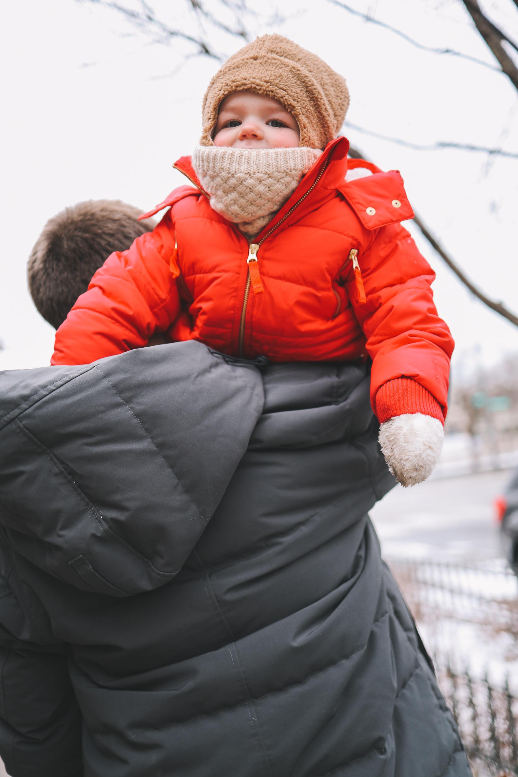Oz Park Snow Day | toddler winter wear