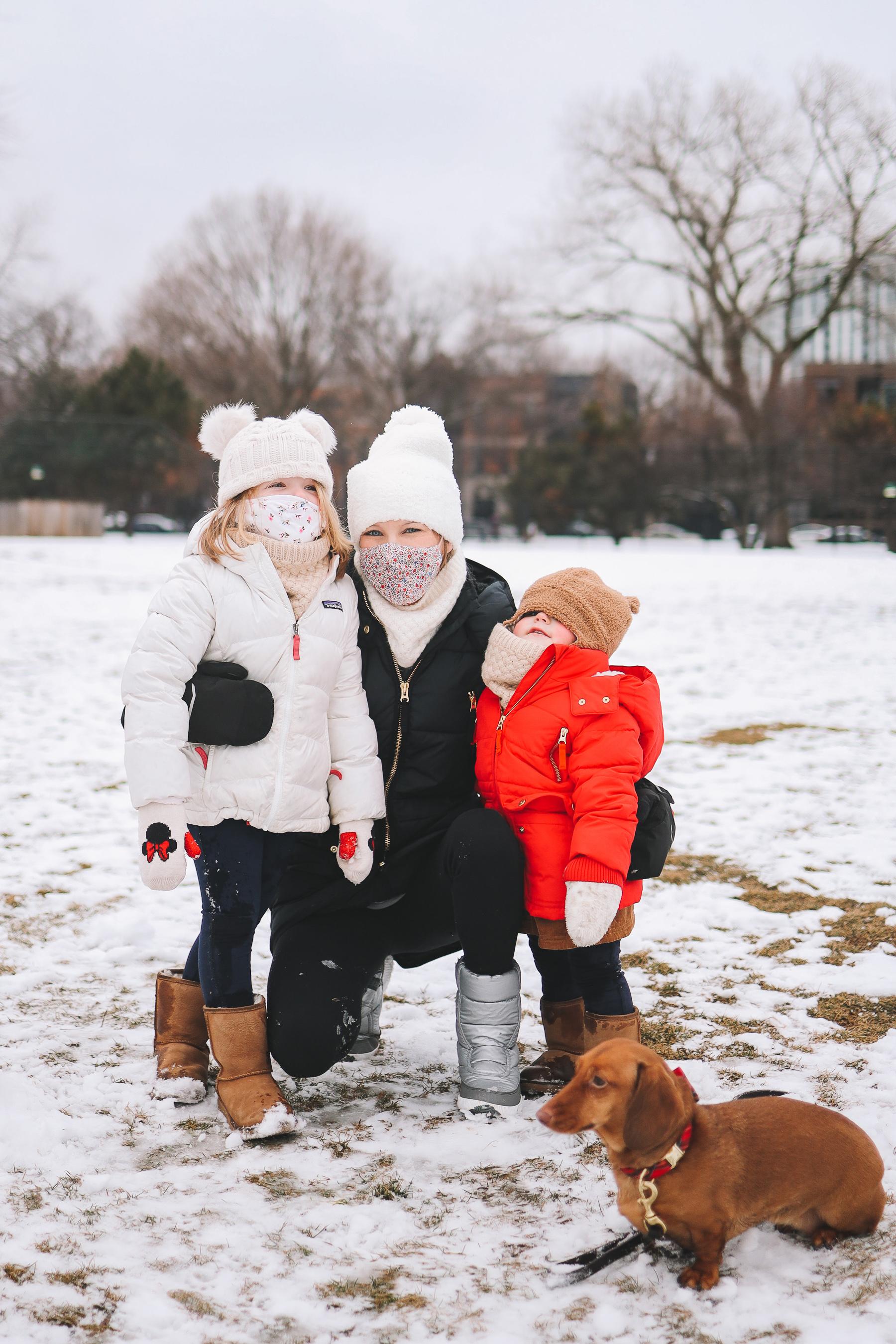 oz park in winter