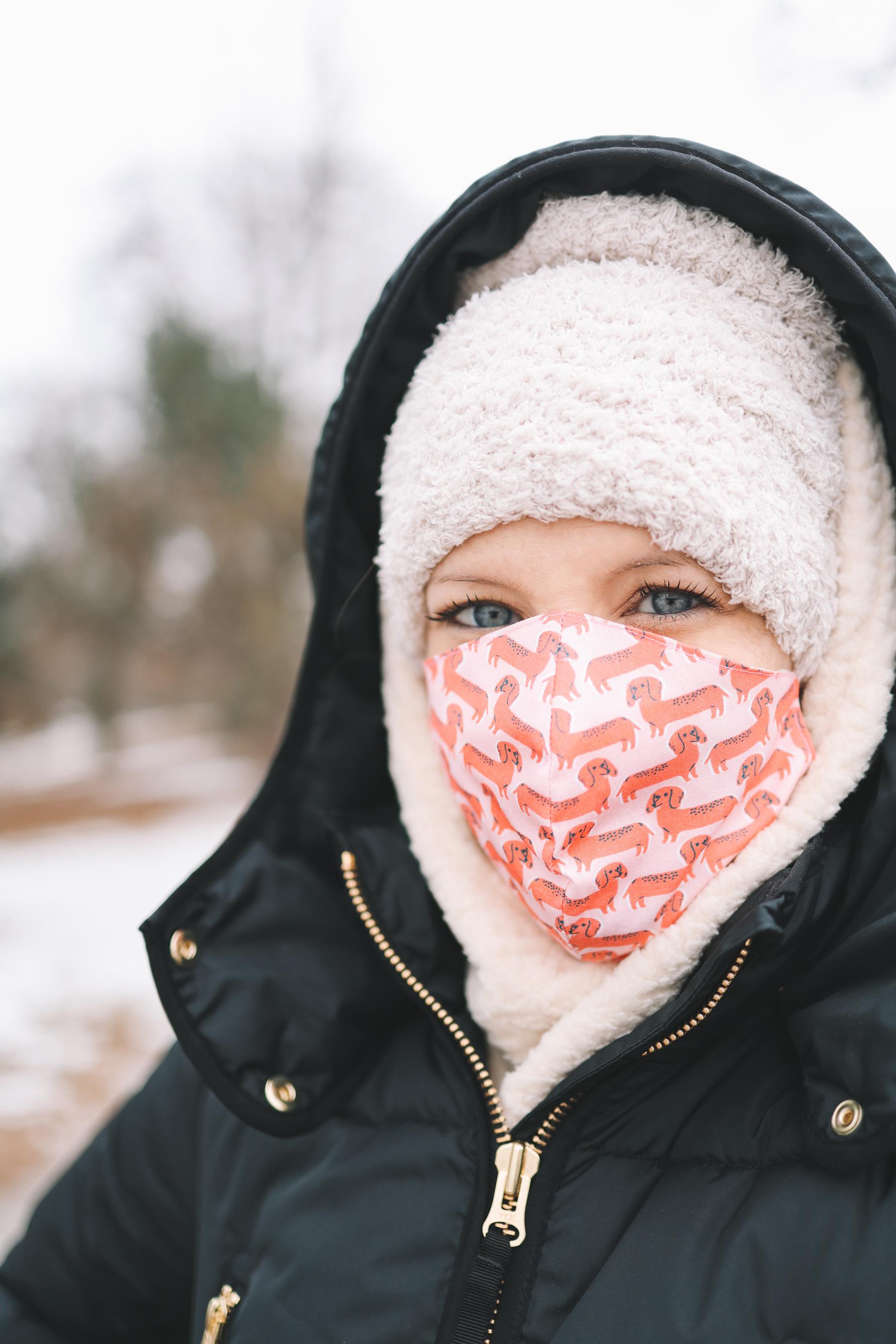 dachshund face mask | A Walk Through Lincoln Park Vol 3