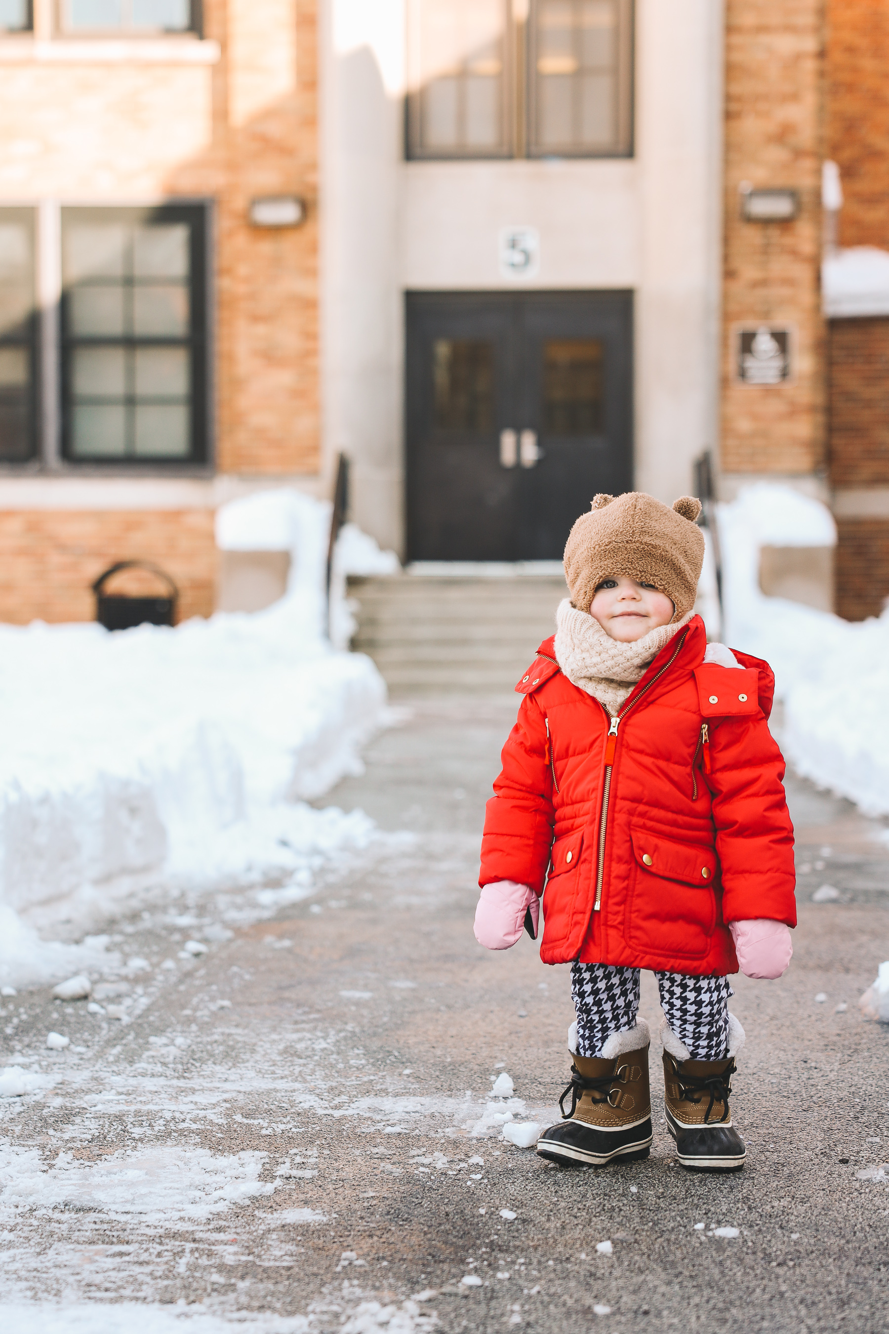 baby snow day gear | Toddler Sorel boots