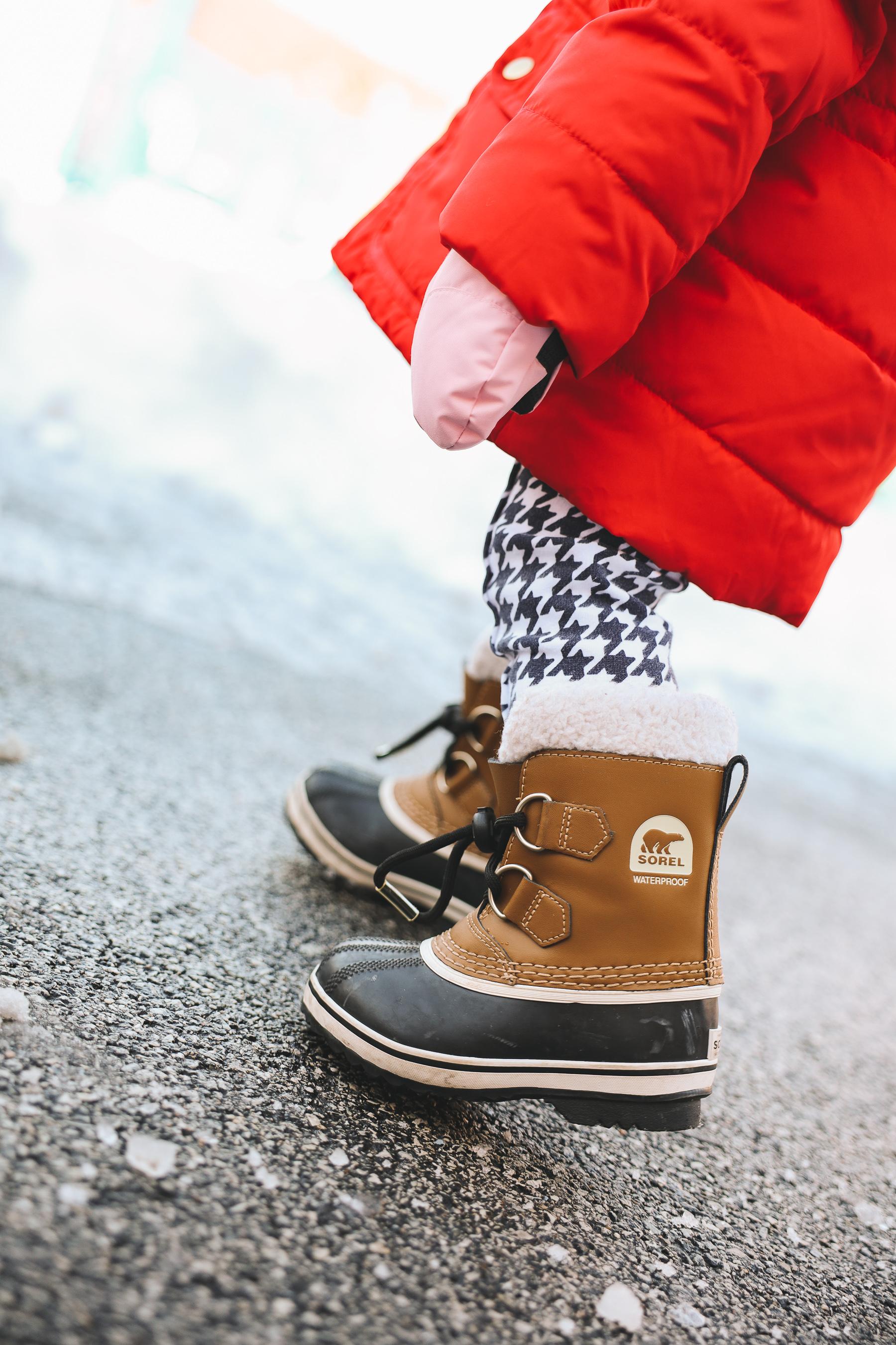 Toddler Sorels waterproof