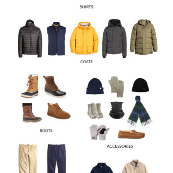 Men's Extreme Cold Capsule Wardrobe