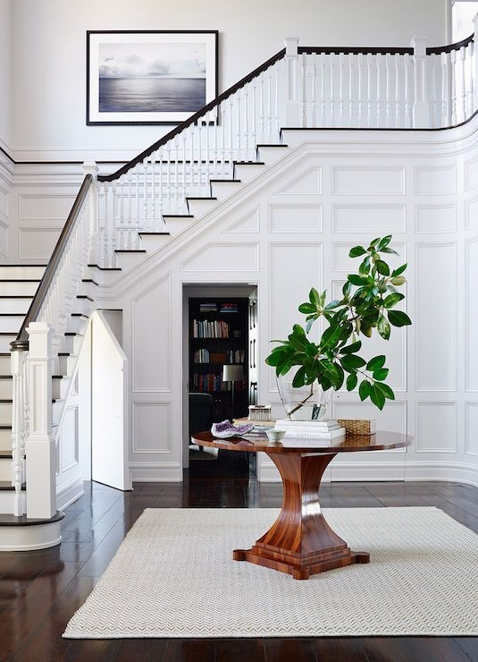 minimalist Staircase Wainscoting Inspiration