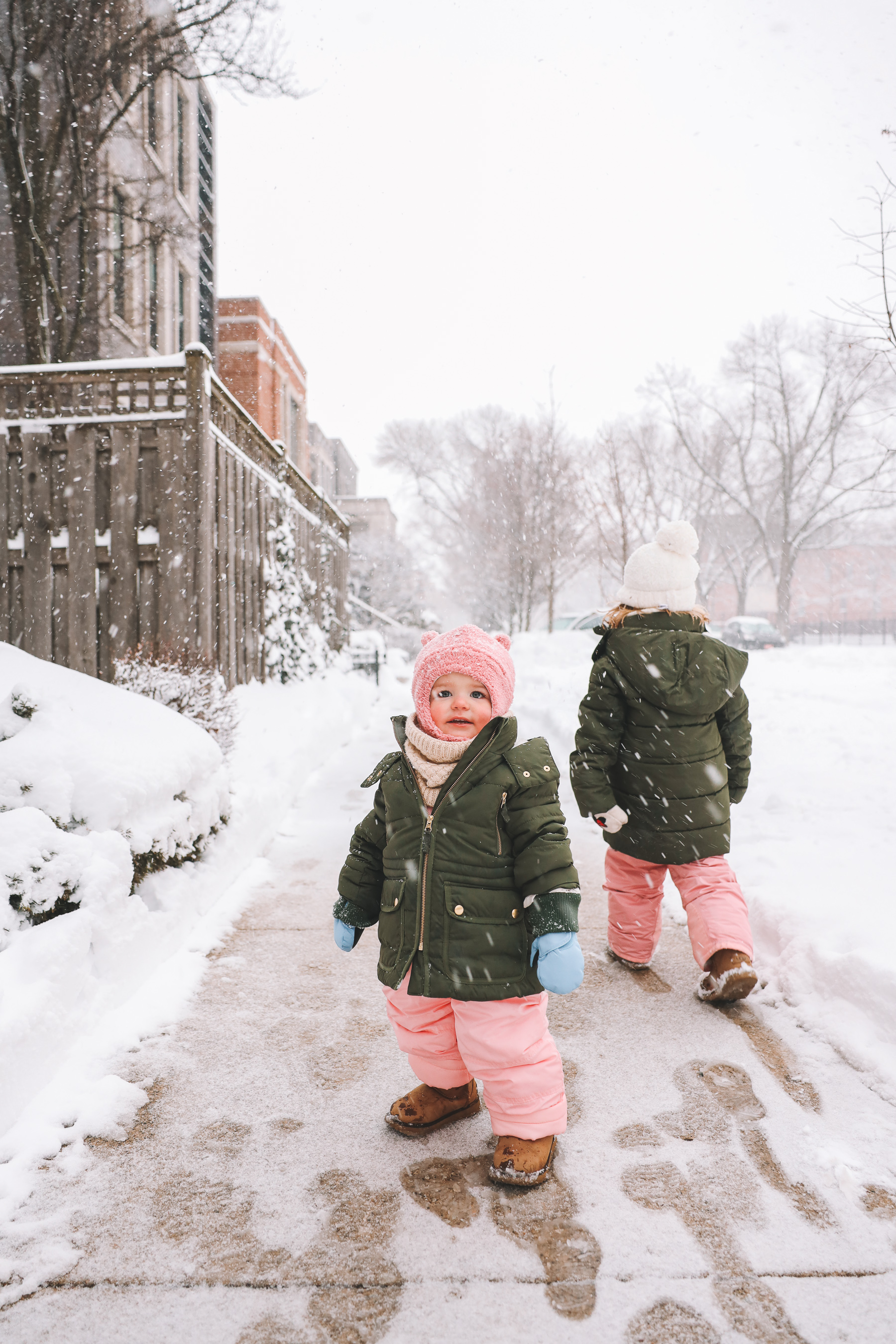 how to keep baby warm in snow