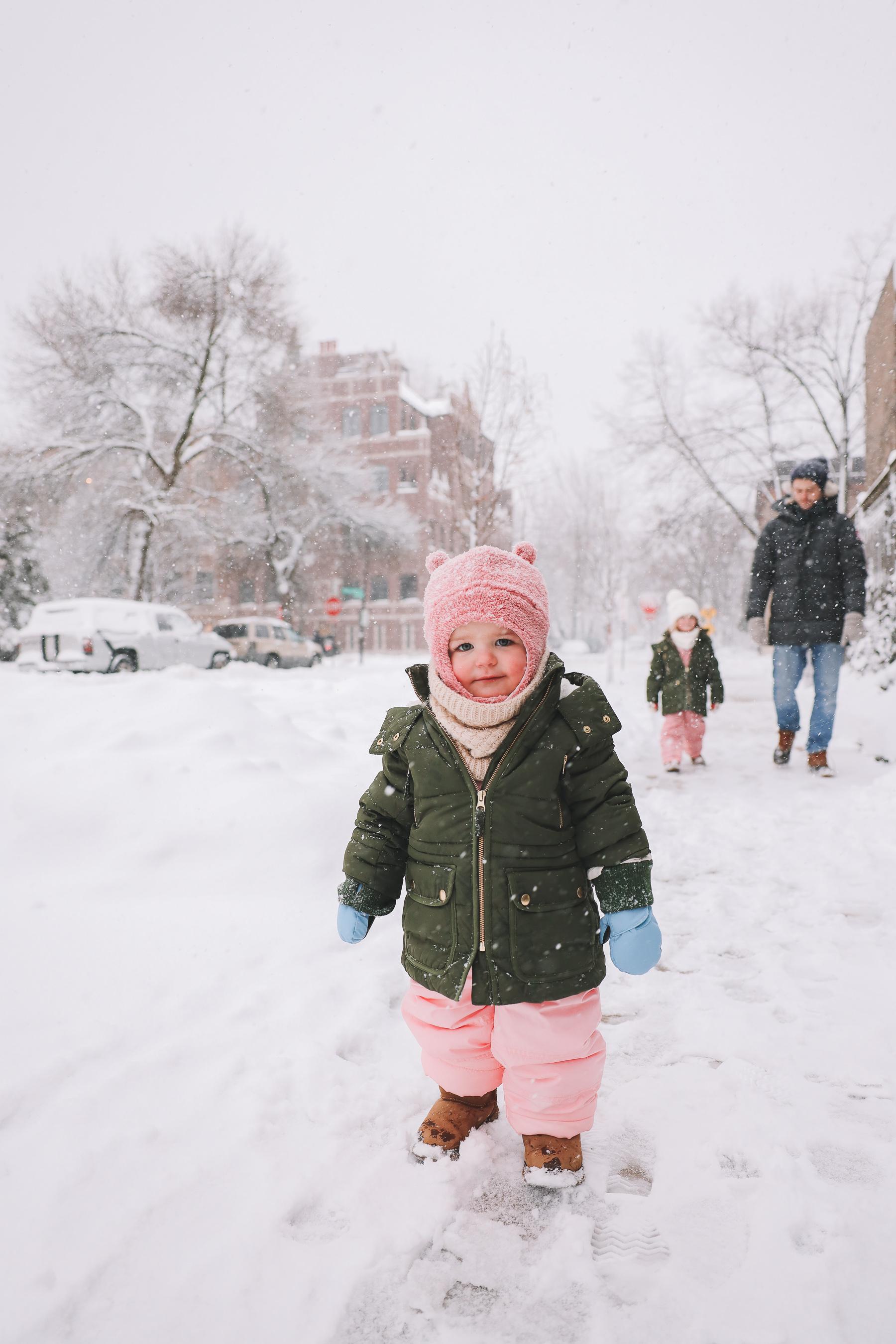 baby snow profile