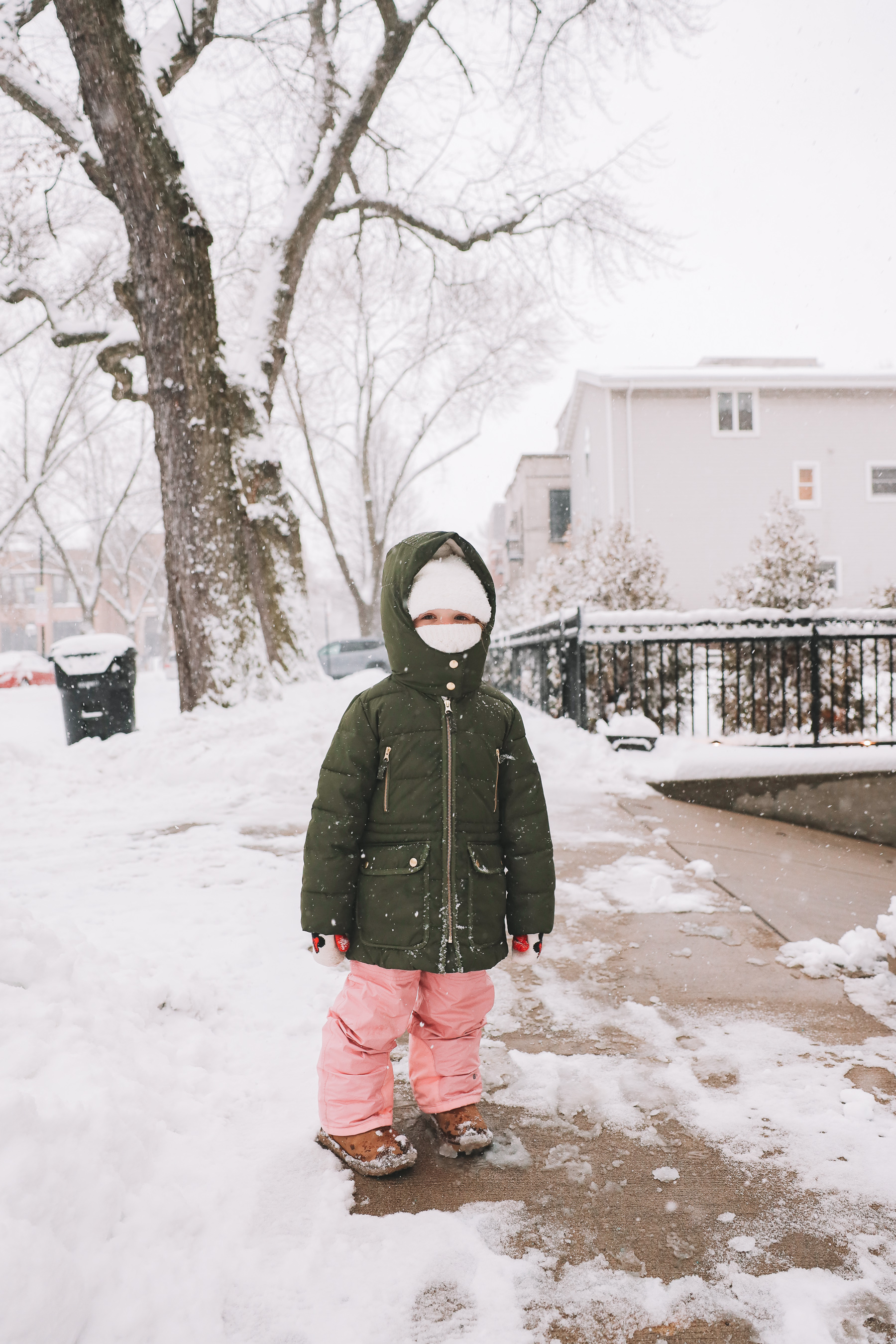kids snow outfit gear