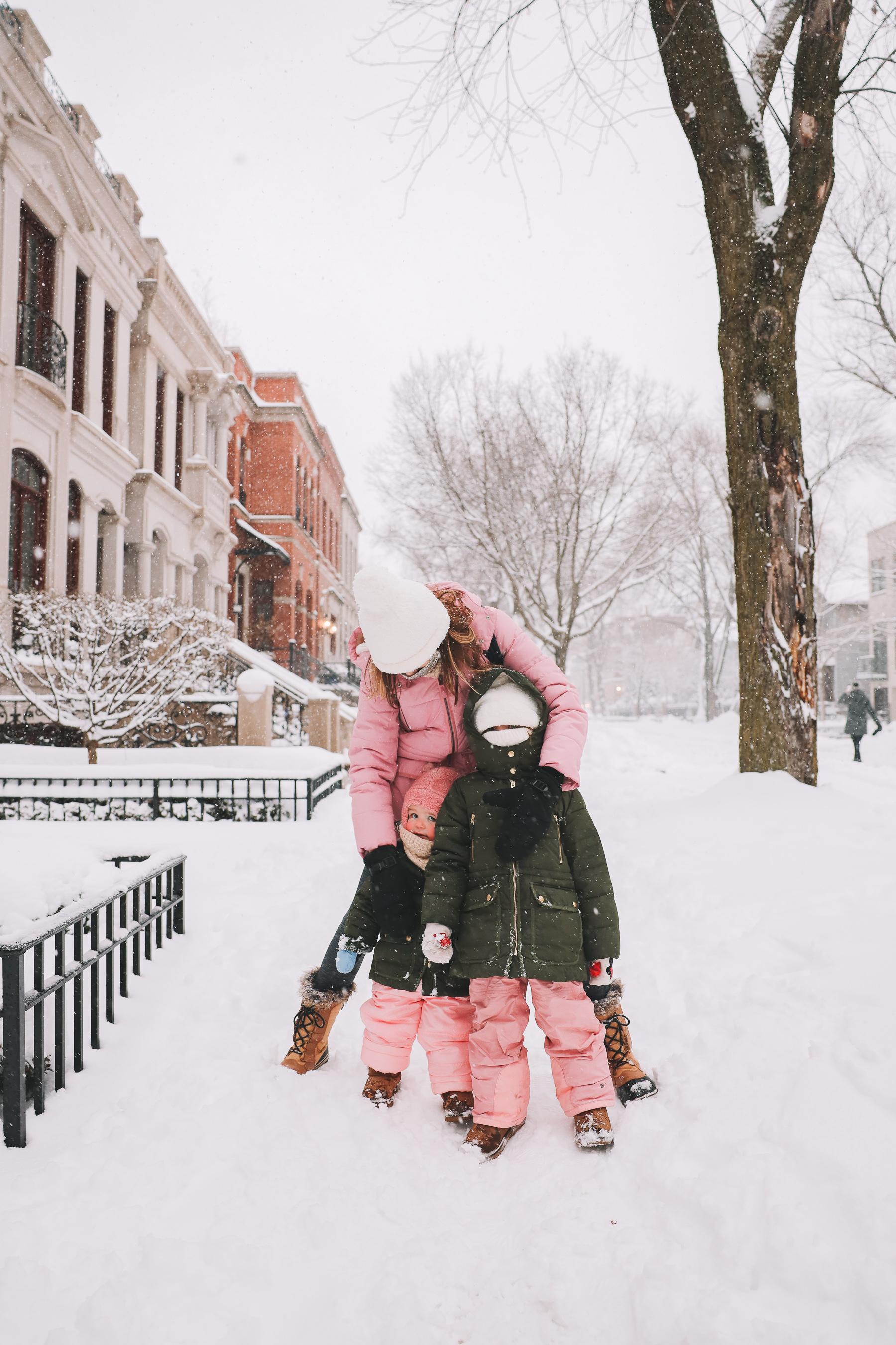 kids winter snow attire