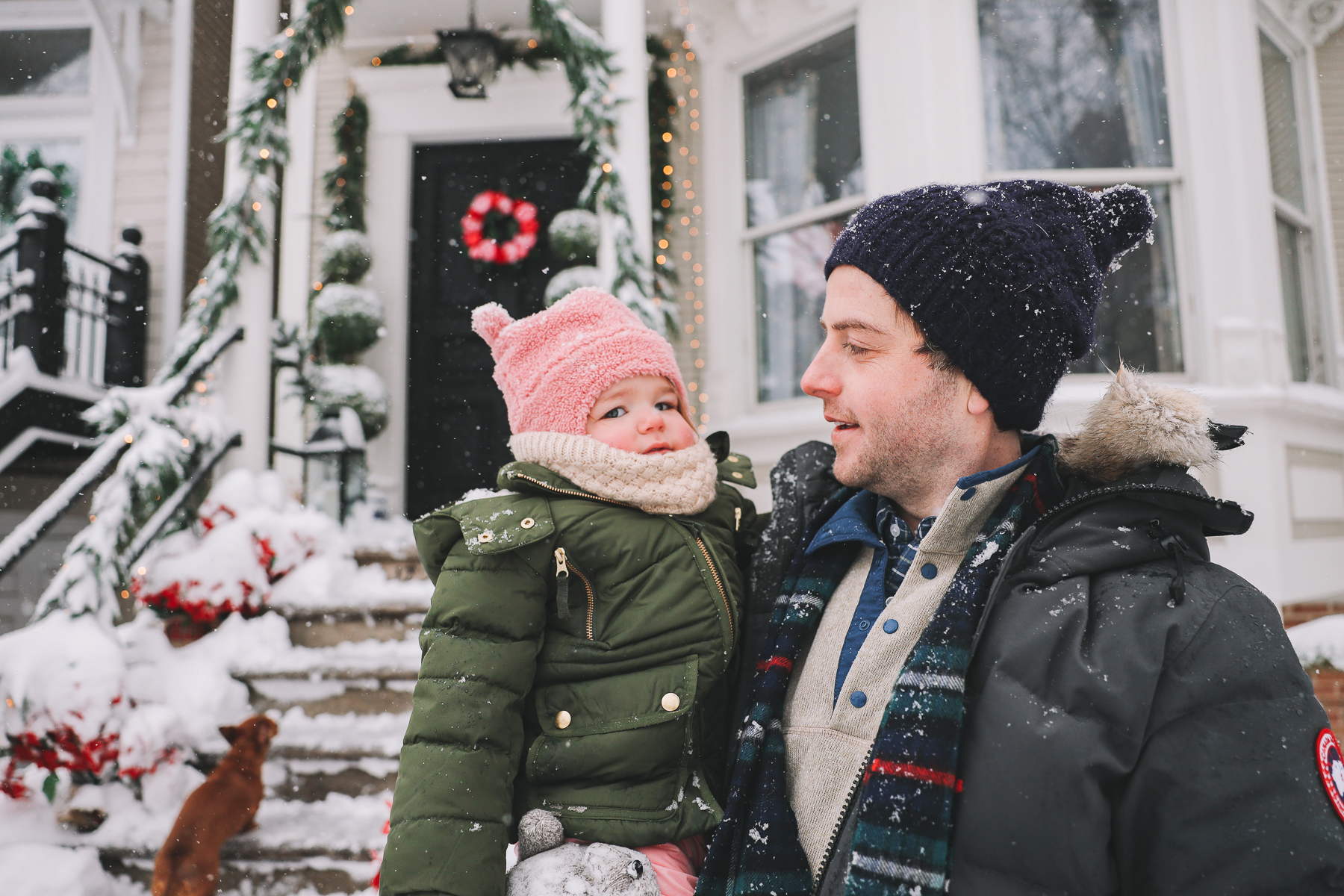 baby snow outfit