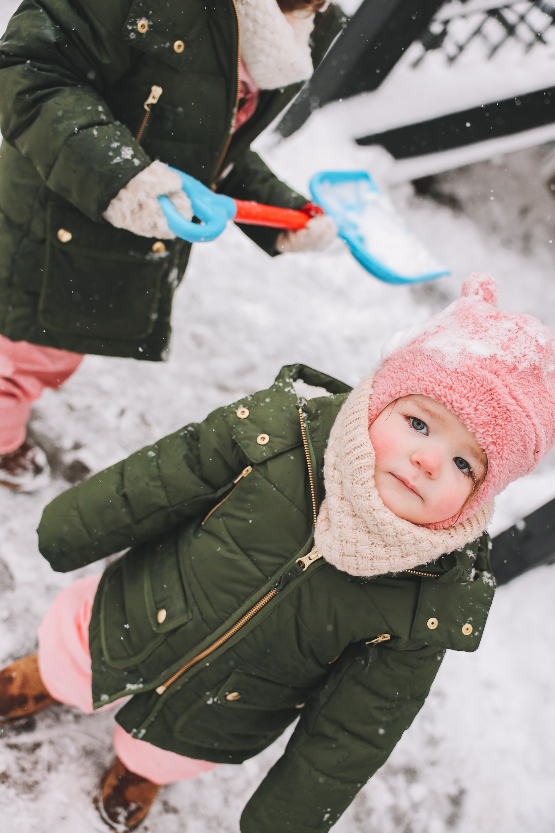 winter snow outfit baby
