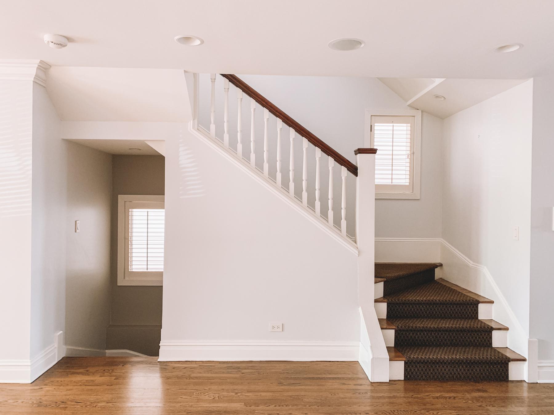 stair runner before