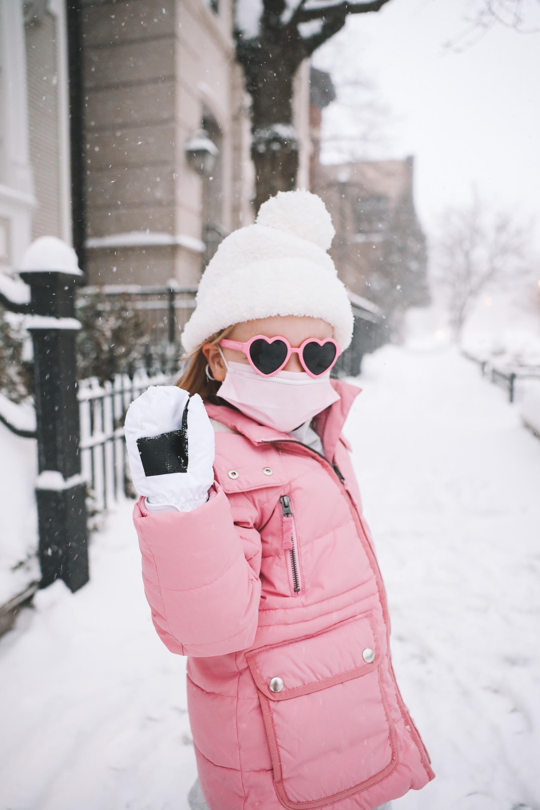 kids J.Crew Chateau Puffer Coat | Pretty in Pink