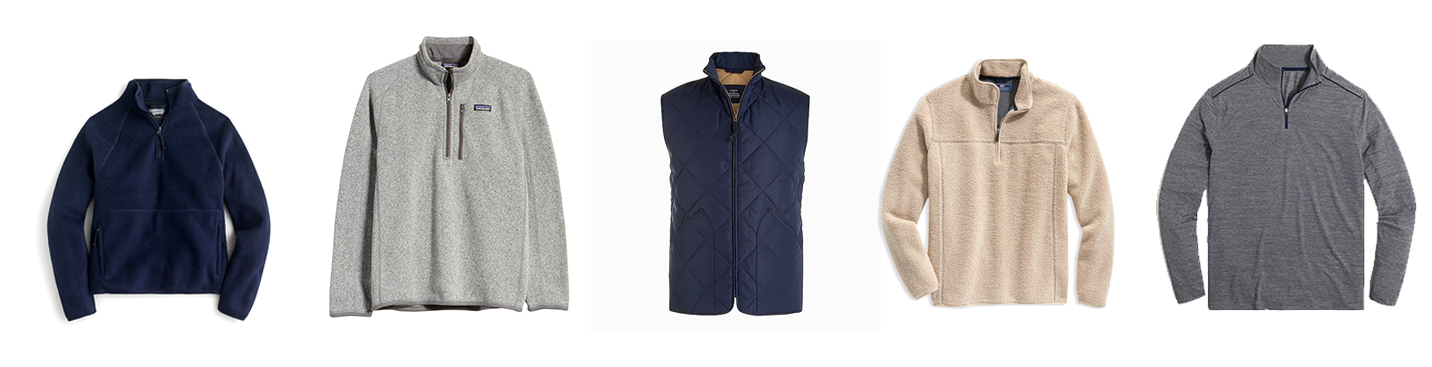 Men's extreme winter pullovers