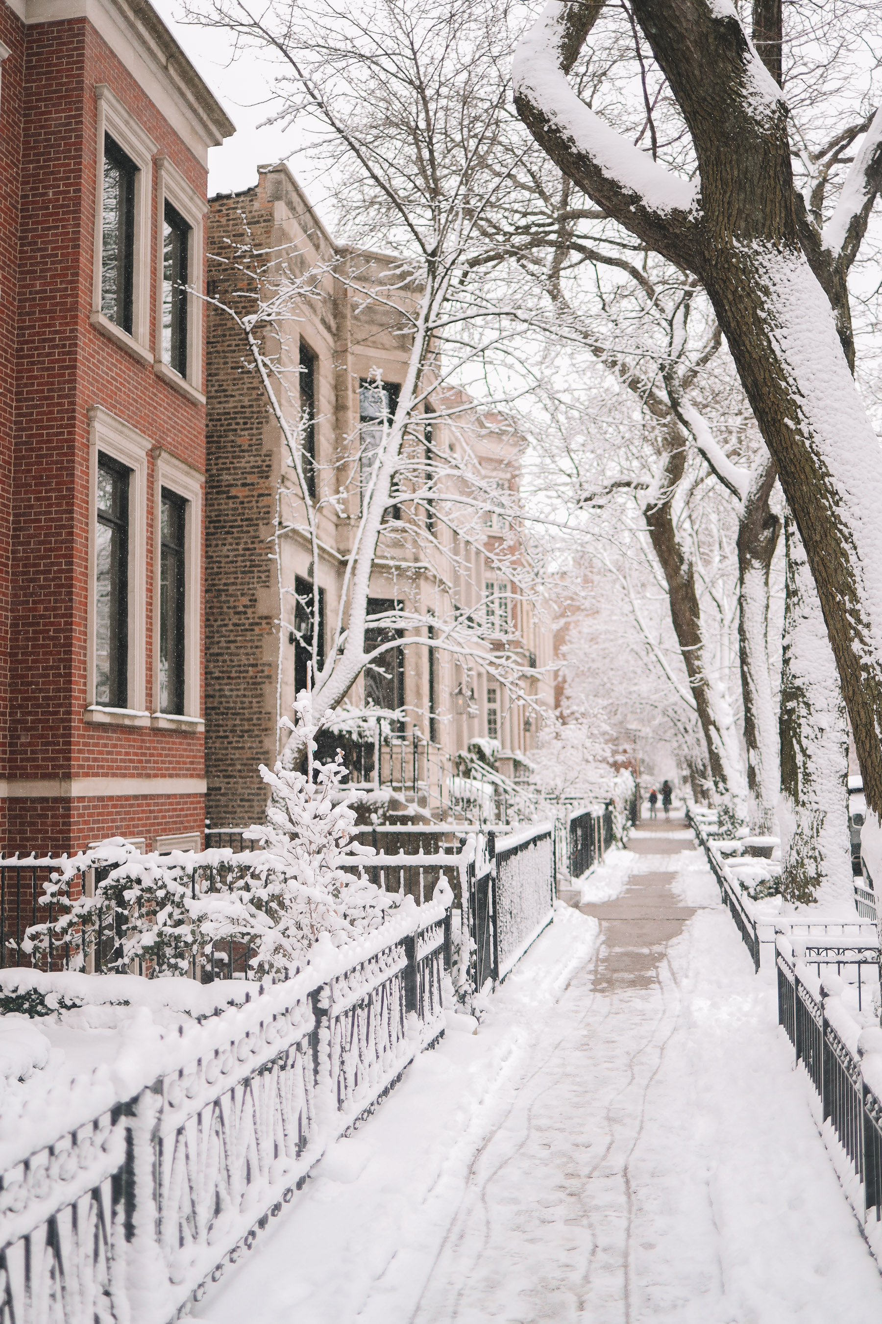 american house winter