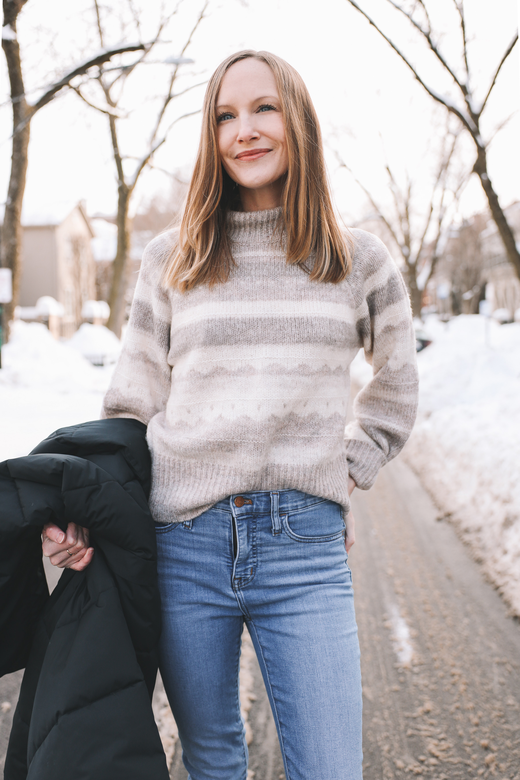 chicago winter outfit