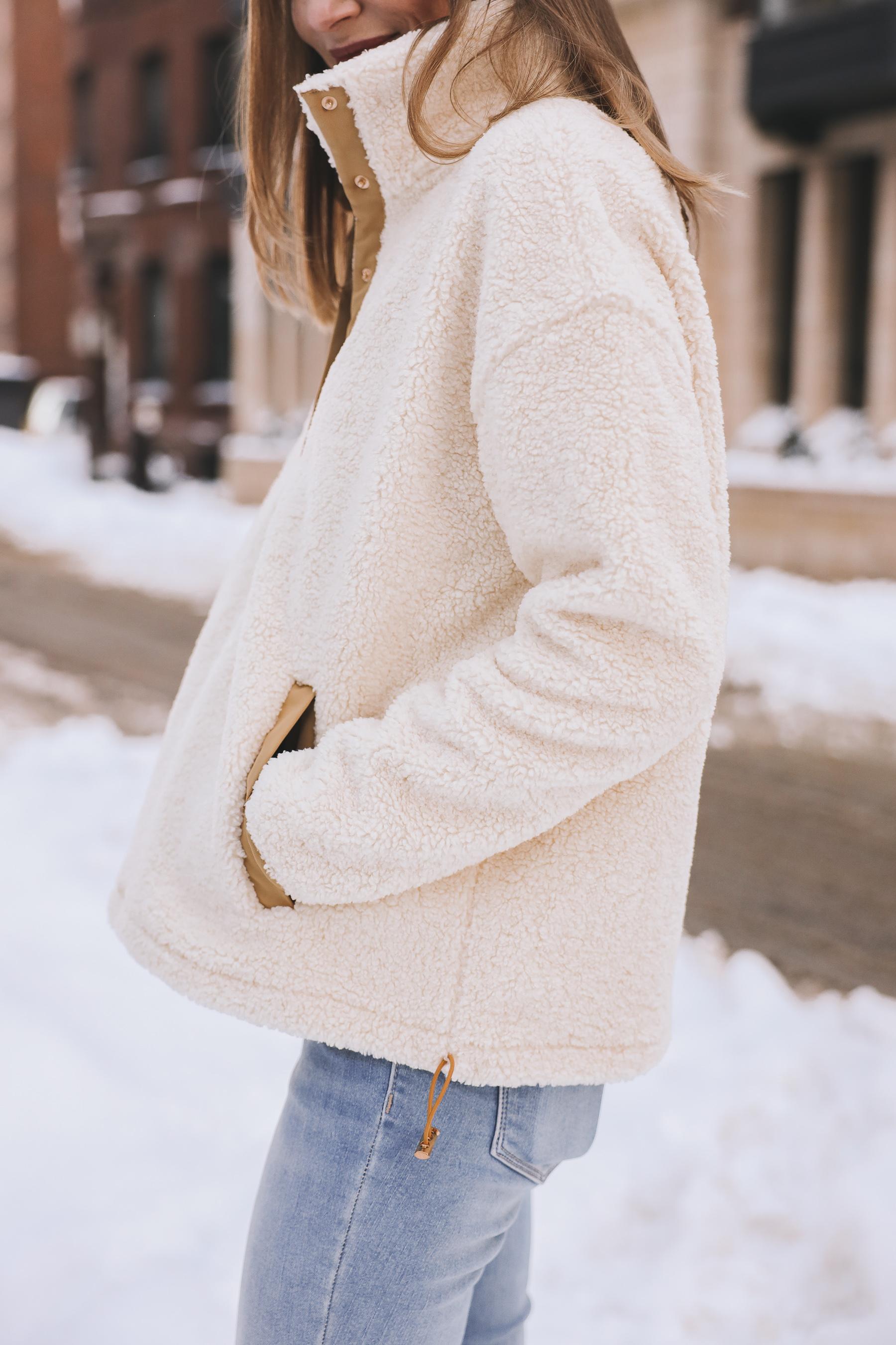 One/Third Fleece Jacket sale