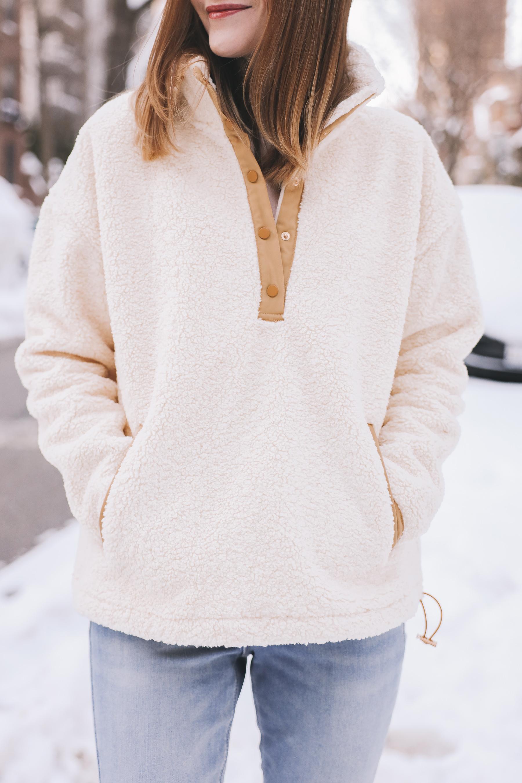 fleece jacket for winter