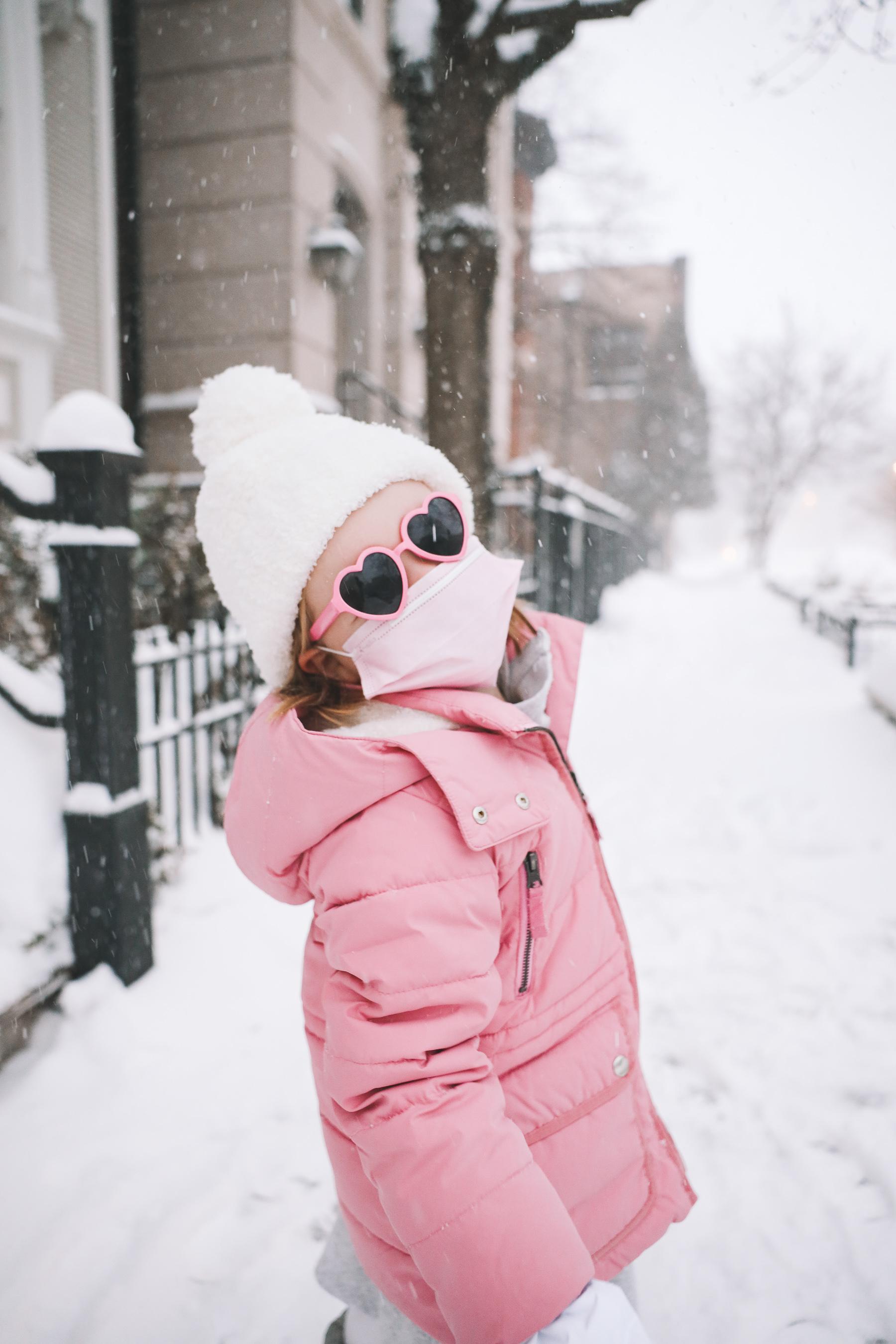 kids J.Crew pink Puffer Coat | Pretty in Pink