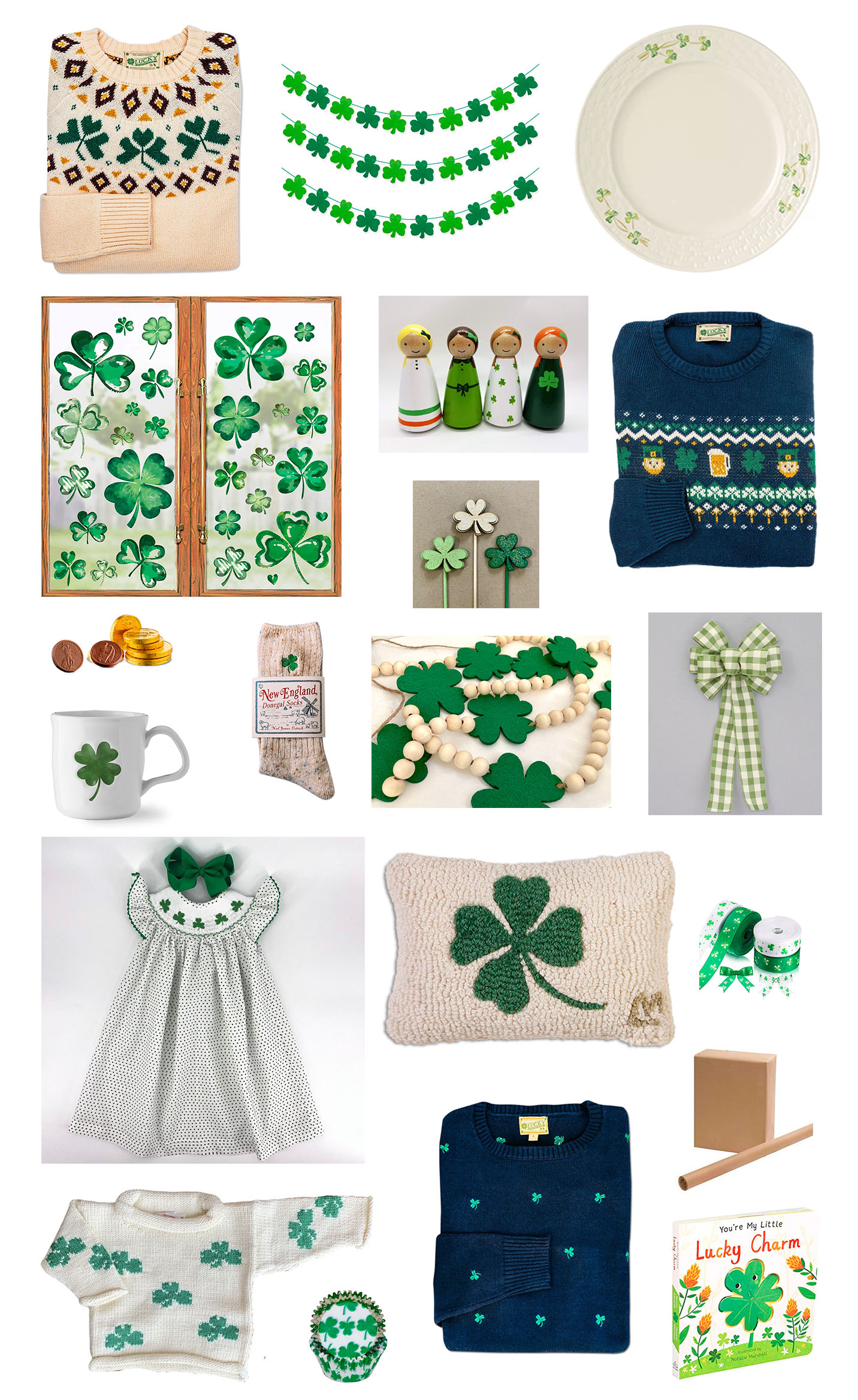 Saint Patricks Day Gifts & Decor