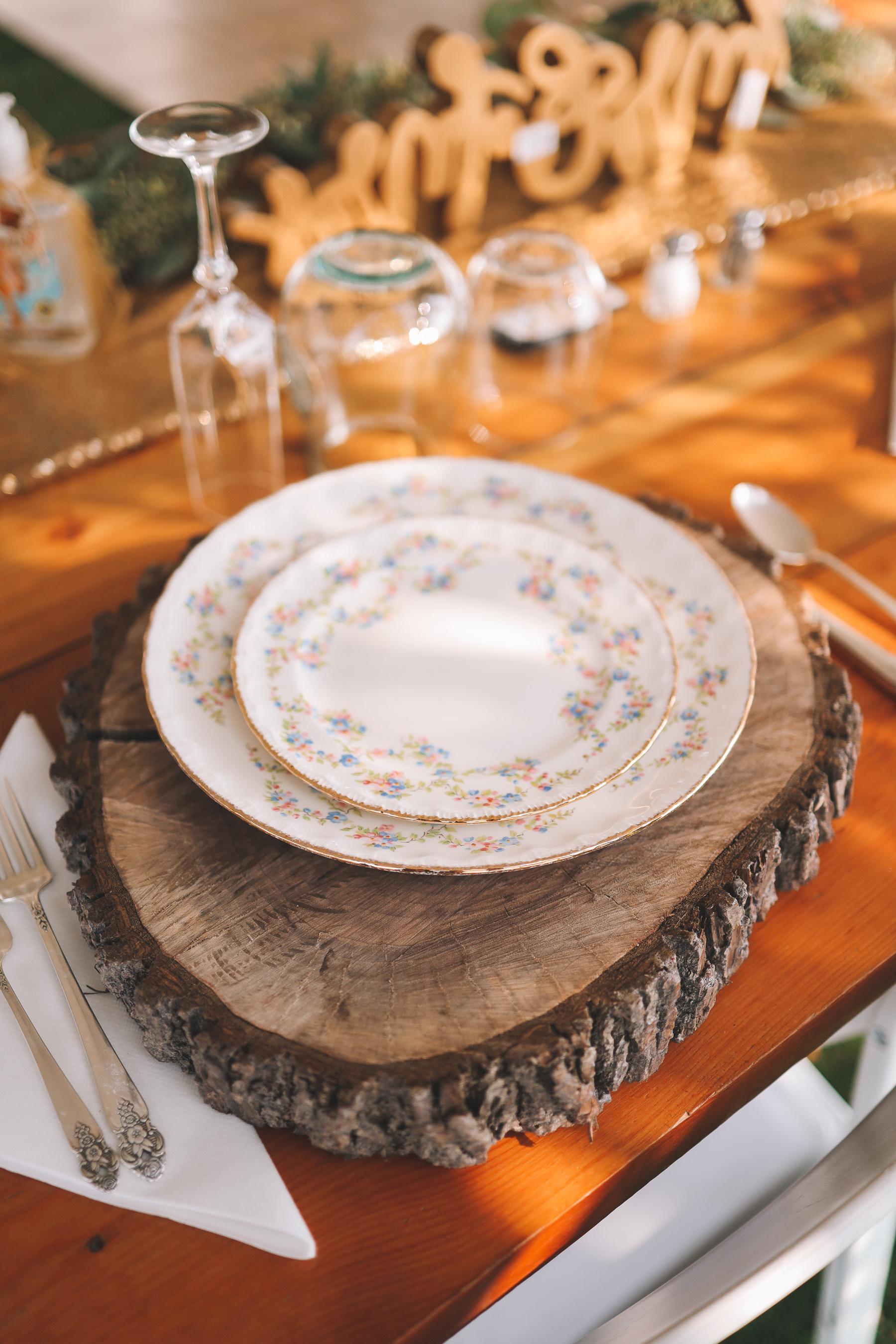 family china | Charlie and Shirleys Wedding
