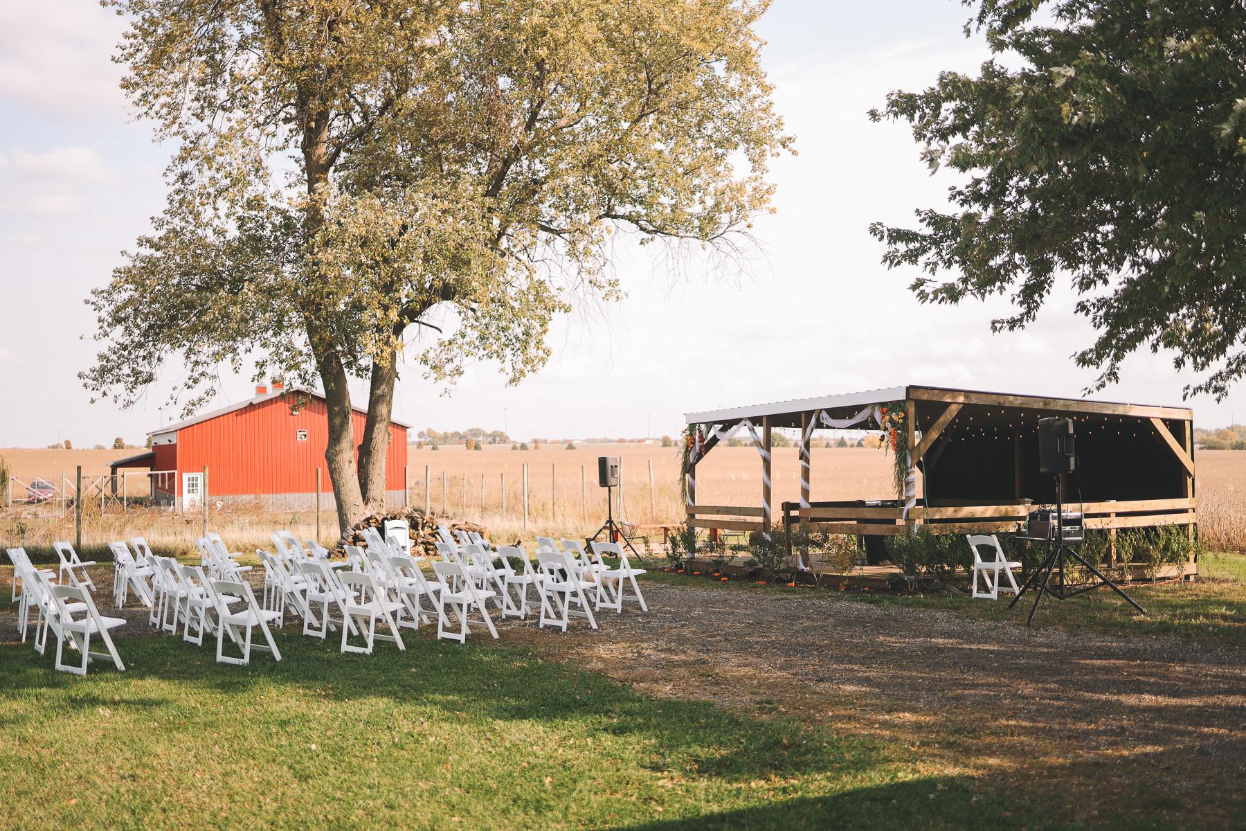 backyard wedding | Charlie and Shirleys Wedding