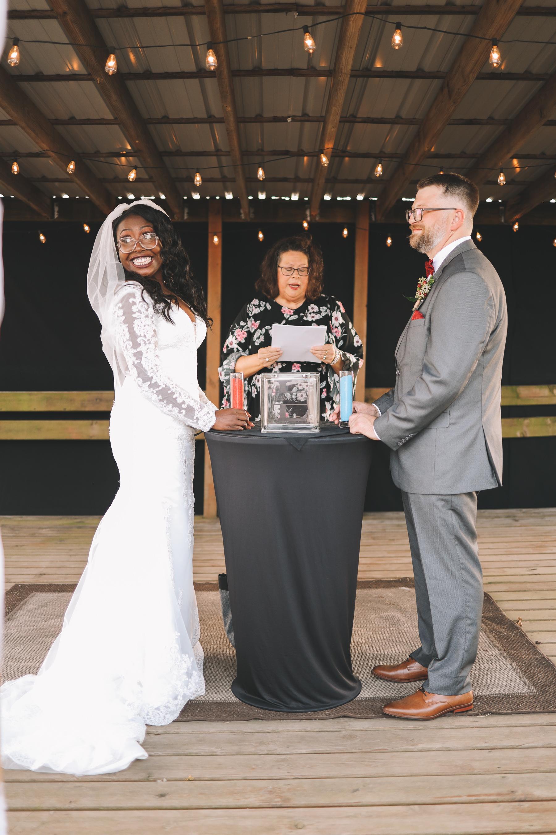 backyard wedding design