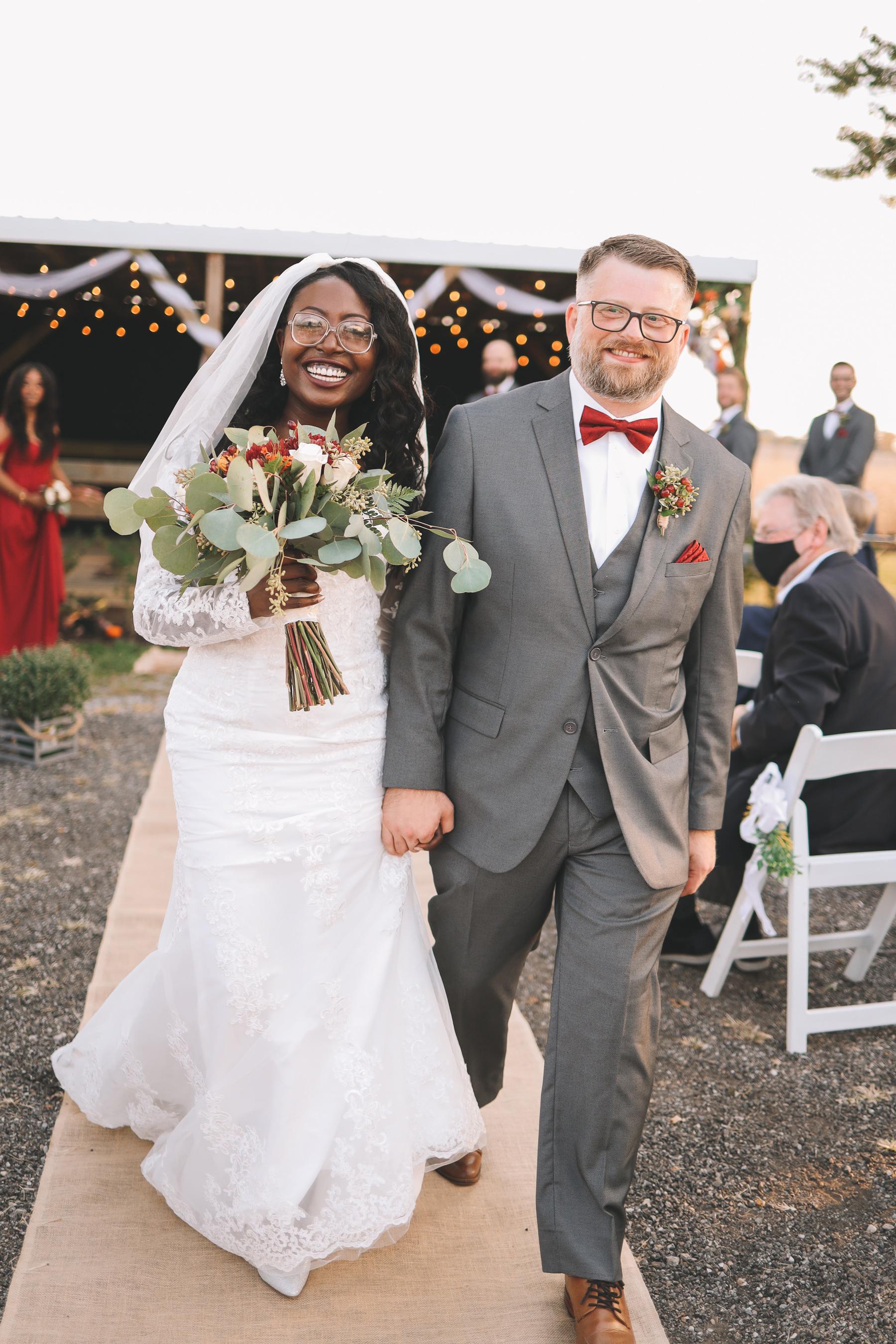 outdoor wedding 2020