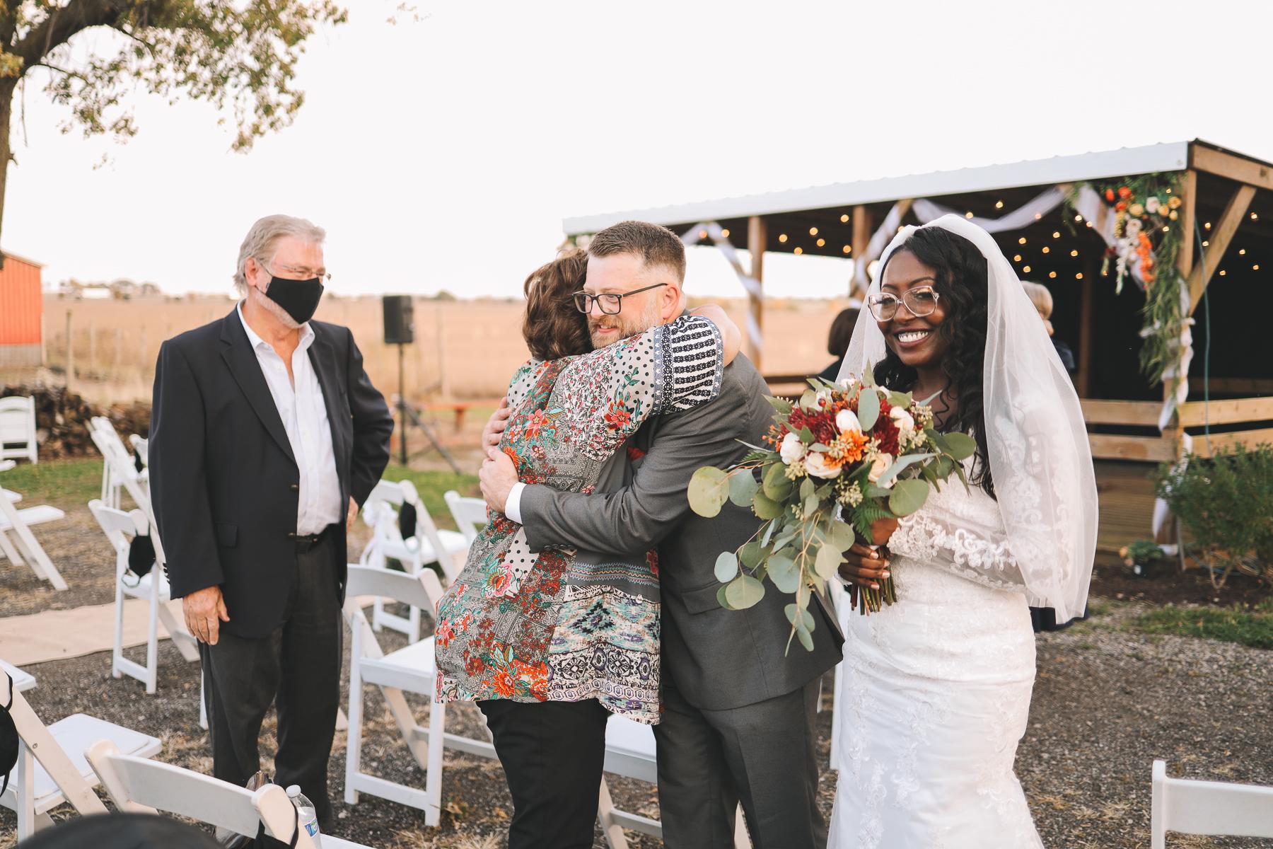 outdoor wedding concept