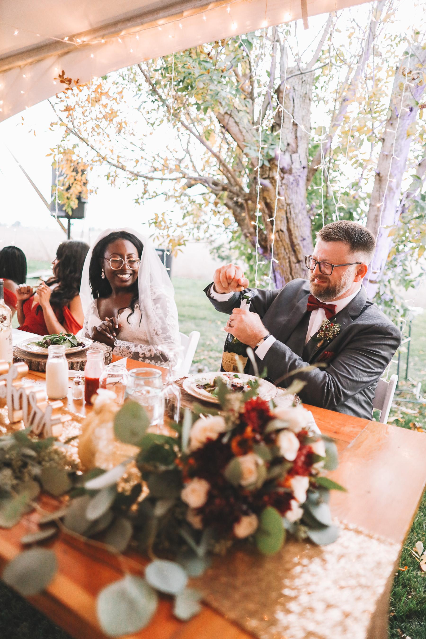 wedding reception ideas | Charlie and Shirleys Wedding