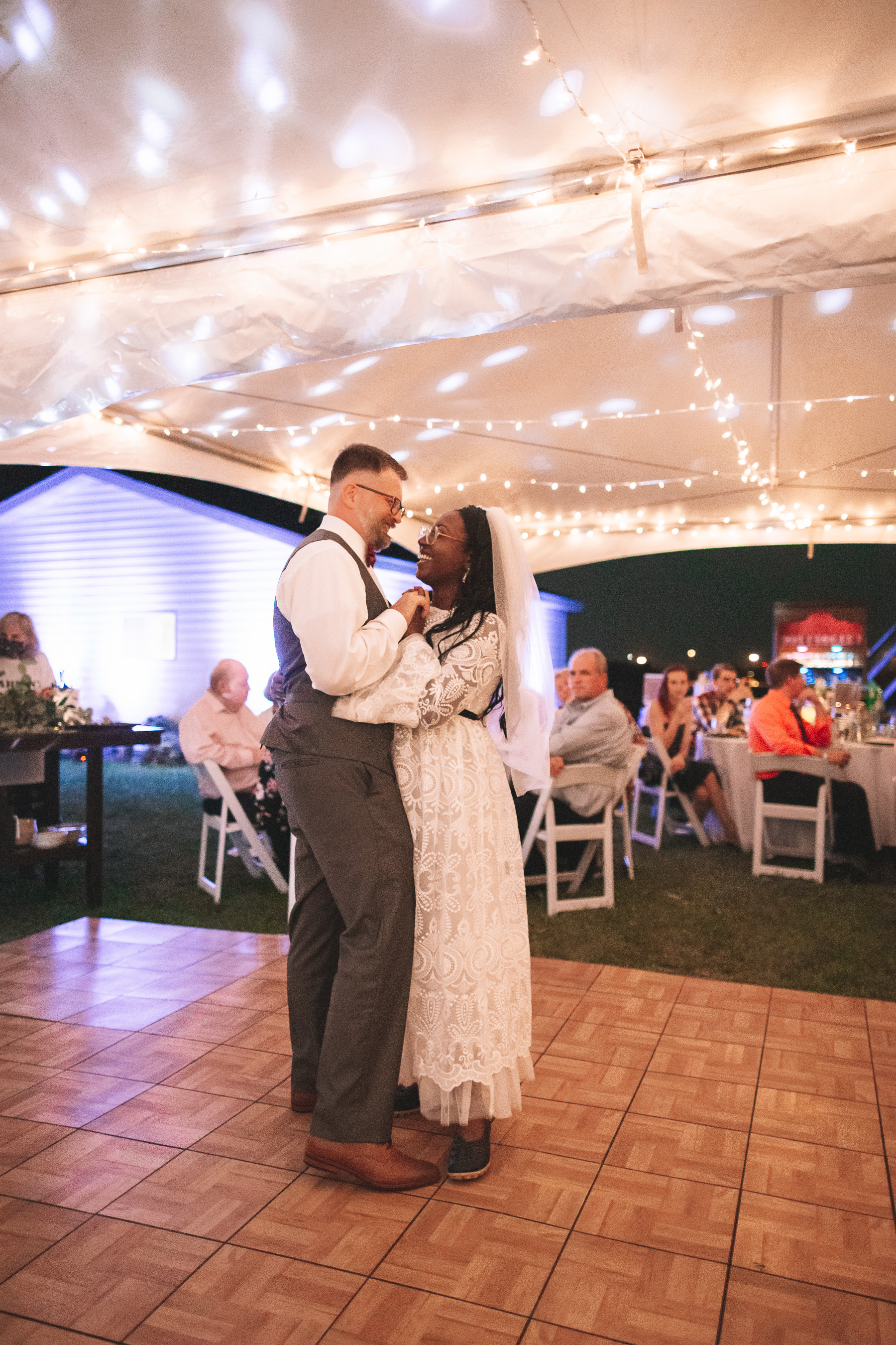 wedding reception during covid