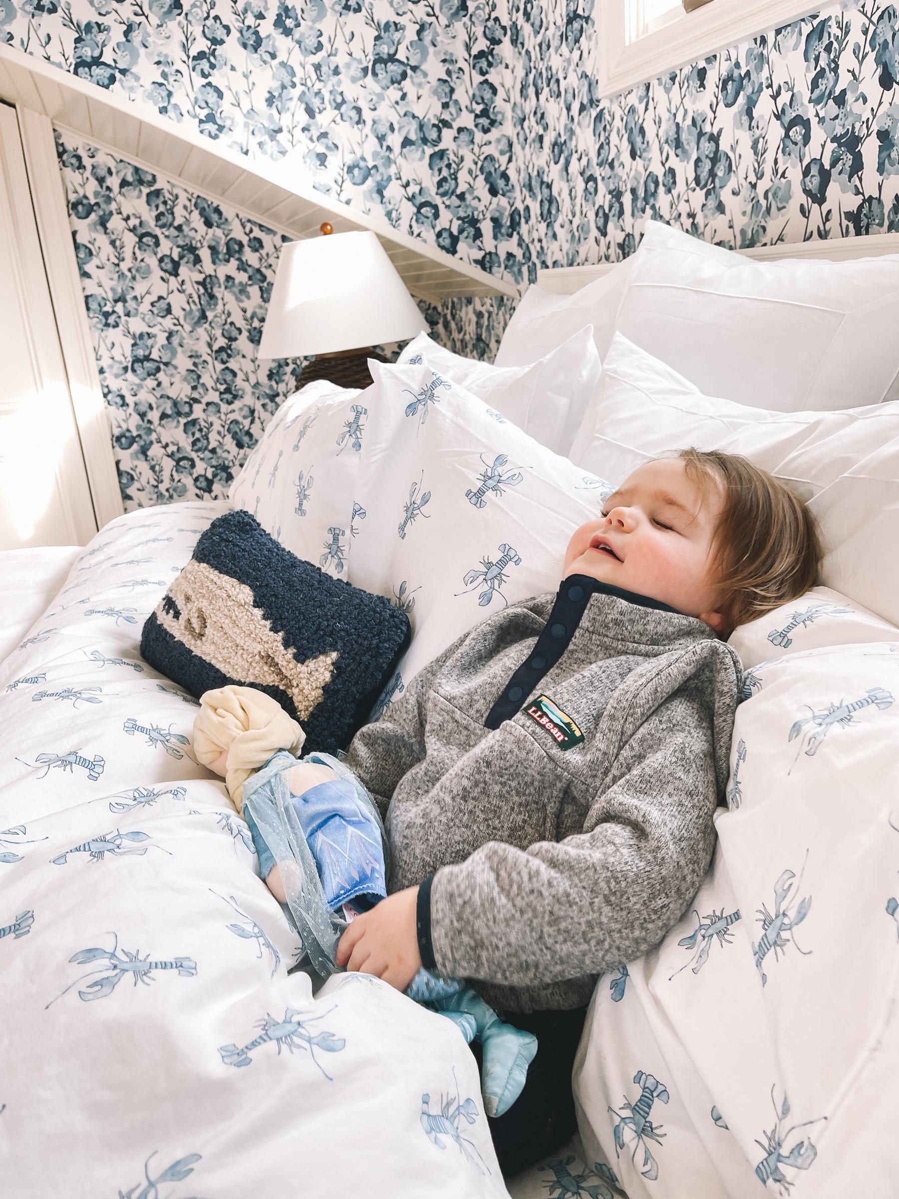 comfortable L.L.Bean bedding