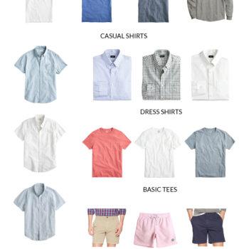 Men's Spring Capsule Wardrobe