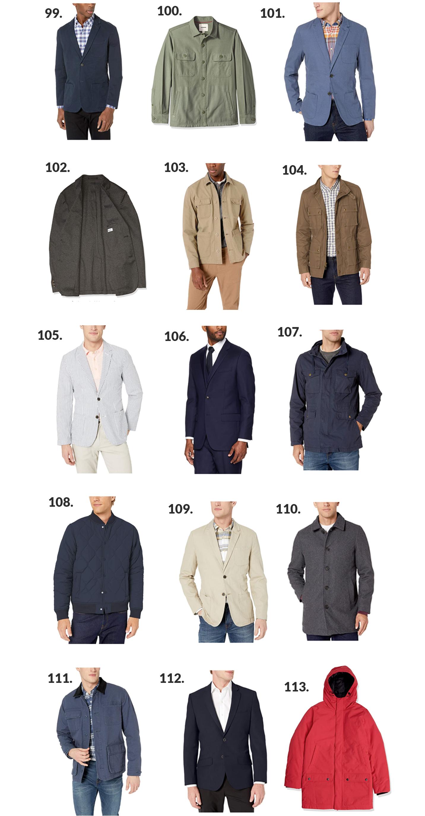 Cheap Amazon Mens Fashion outerwear