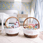 Scalloped Easter Baskets