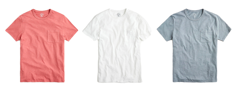 men basic tees | Mens Spring Capsule Wardrobe
