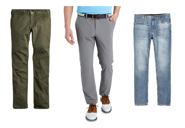 men spring pants | Mens Spring Capsule Wardrobe