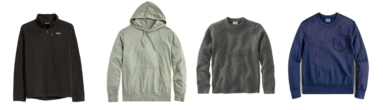 men pullover, hoodie, heavy wool | Mens Spring Capsule Wardrobe