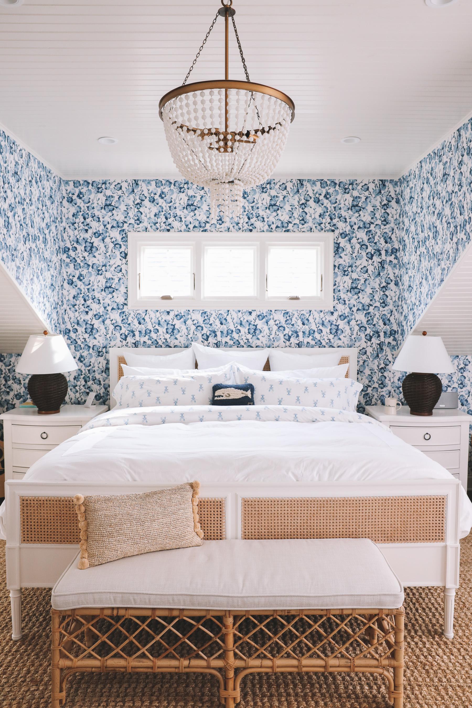 L.L.Bean x Sara Fitz Lobster Bedding feature