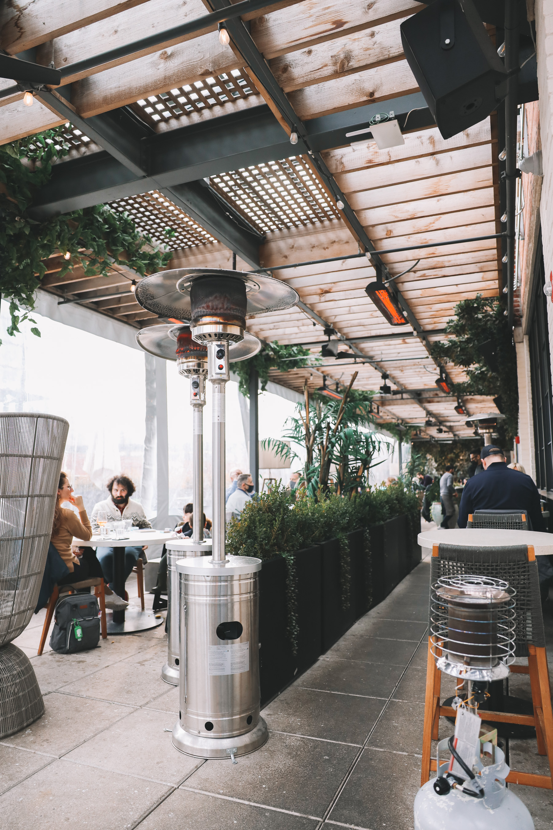 Aba Greenhouse Rooftop Dinner experience