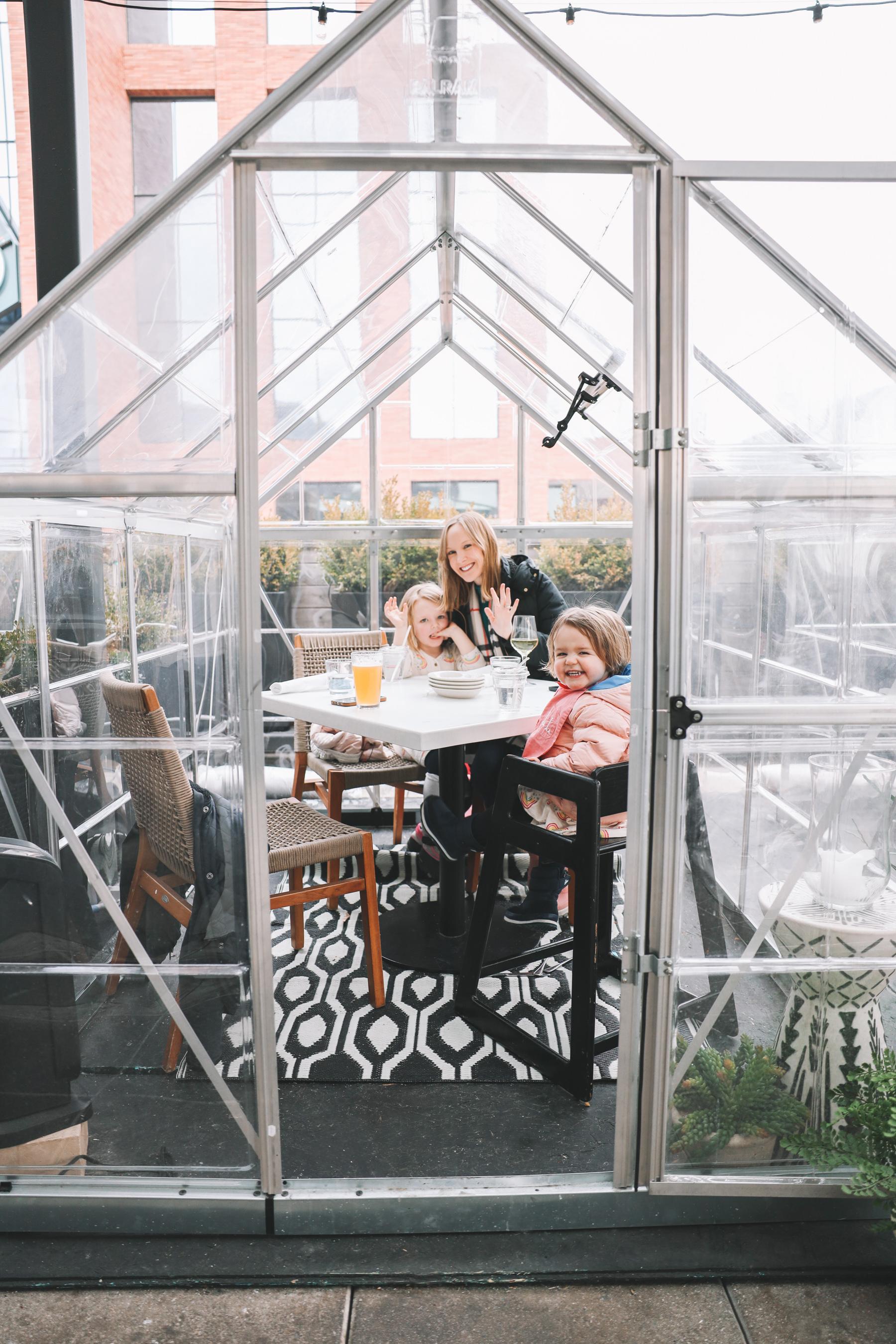 greenhouse igloo restaurants