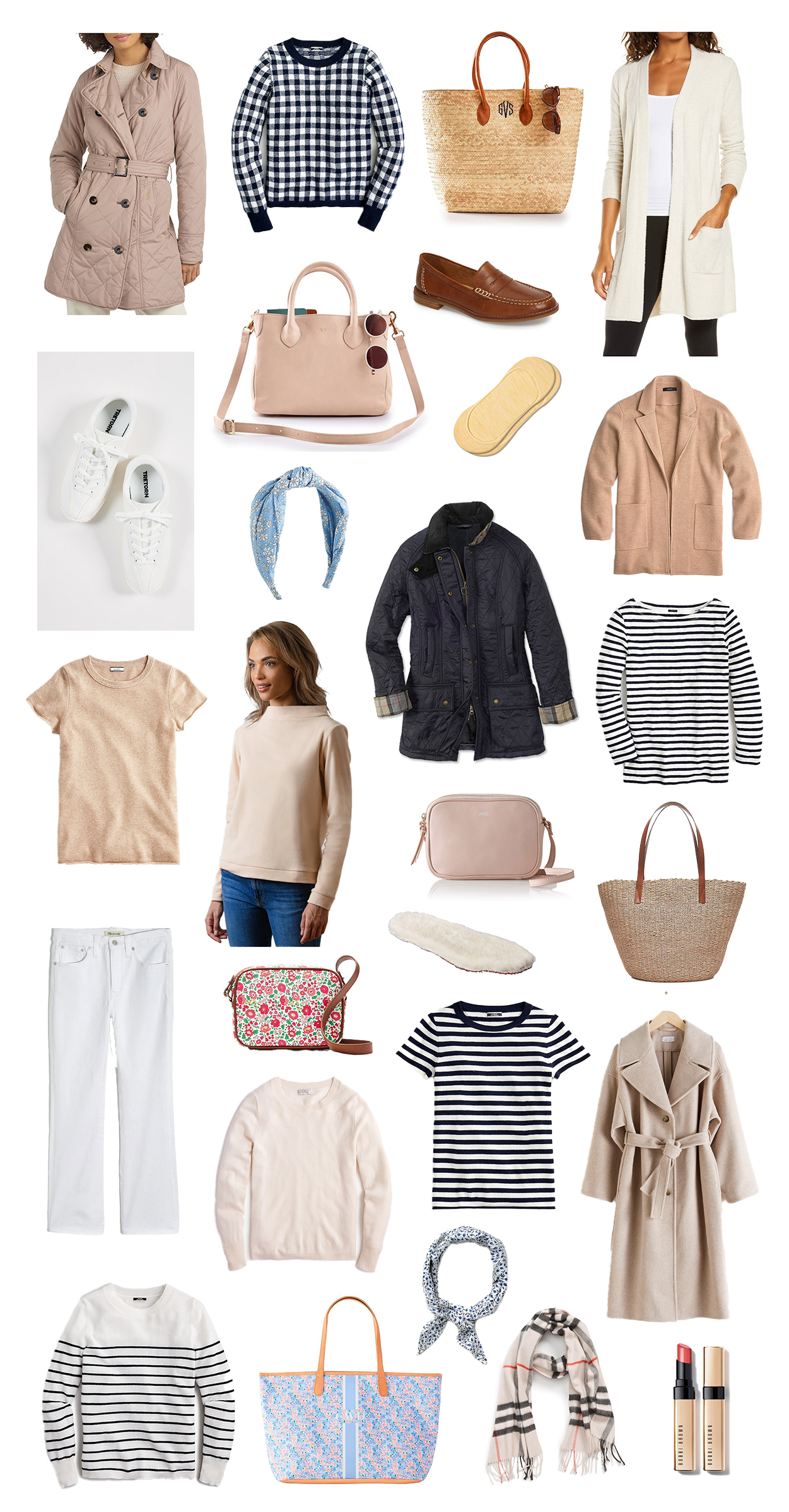 How to Look Springy and Stay Warm | Women's Spring Capsule Wardrobe