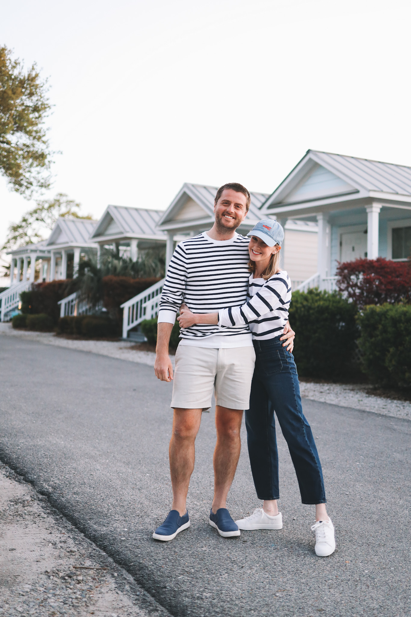 preppy couple outfit