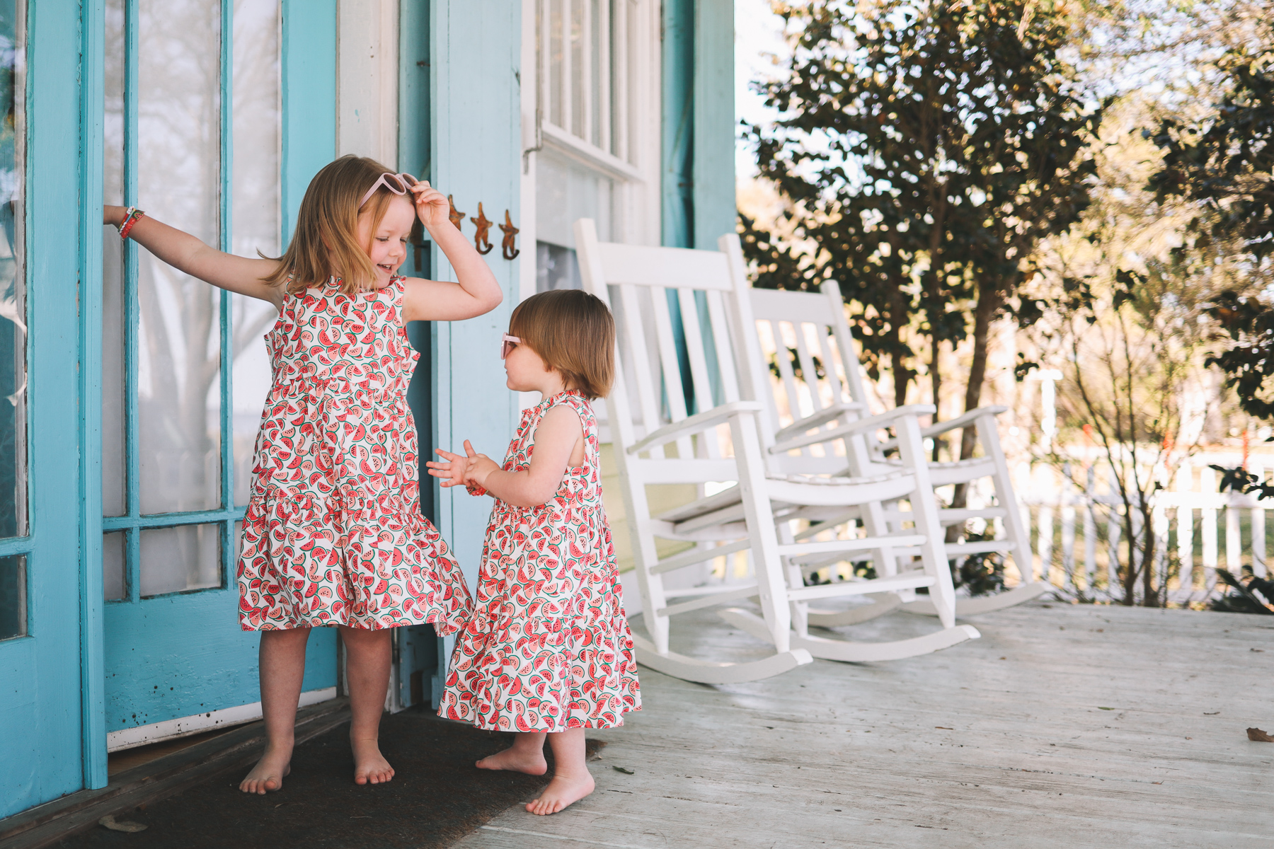 jcrew tiered dress for little girls