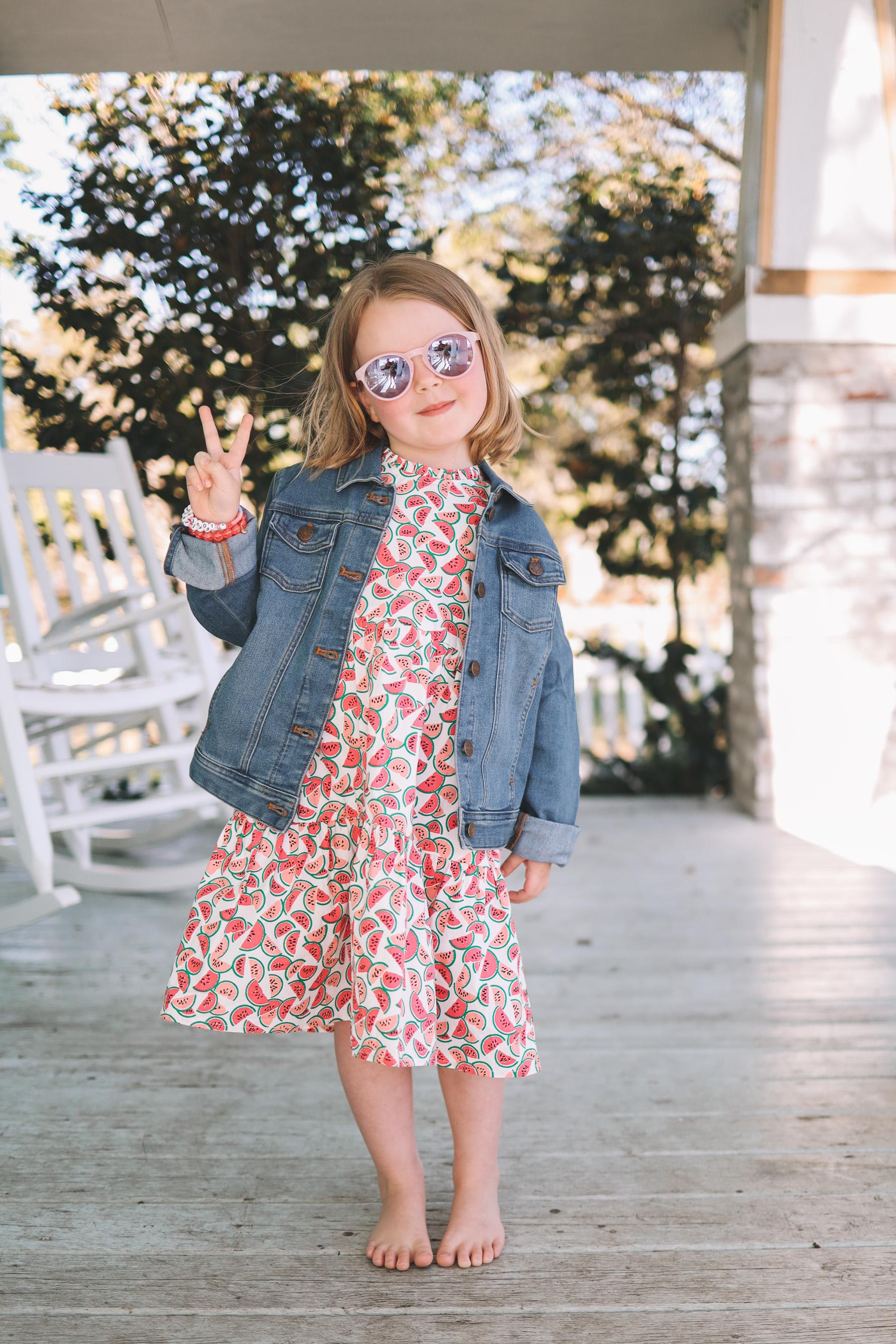 jcrew summer dress kids